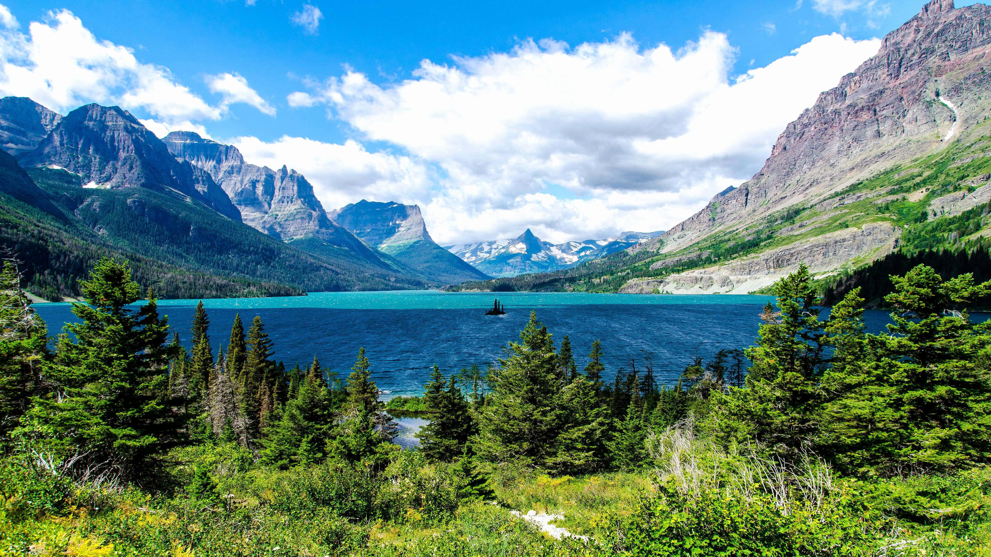 Glacier National Park Mountain Range UHD K Wallpaper Pixelz - Mountain ranges of united states