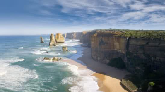 great ocean road victoria australia 4k wallpaper