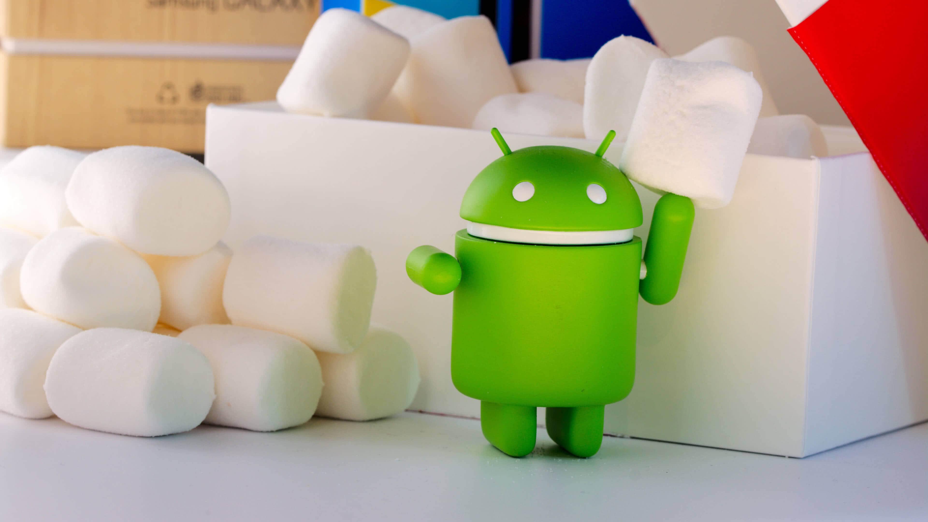 green android figurine marshmallow uhd 4k wallpaper