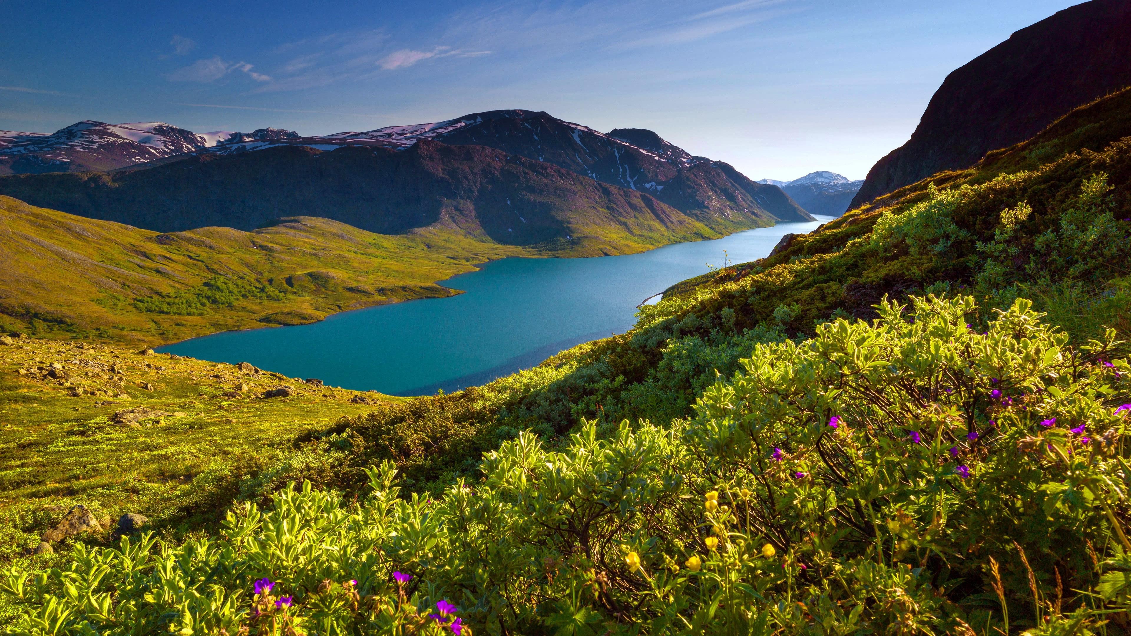 Jotunheimen National Park Mountain Range Norway Uhd 4k Wallpaper Pixelz