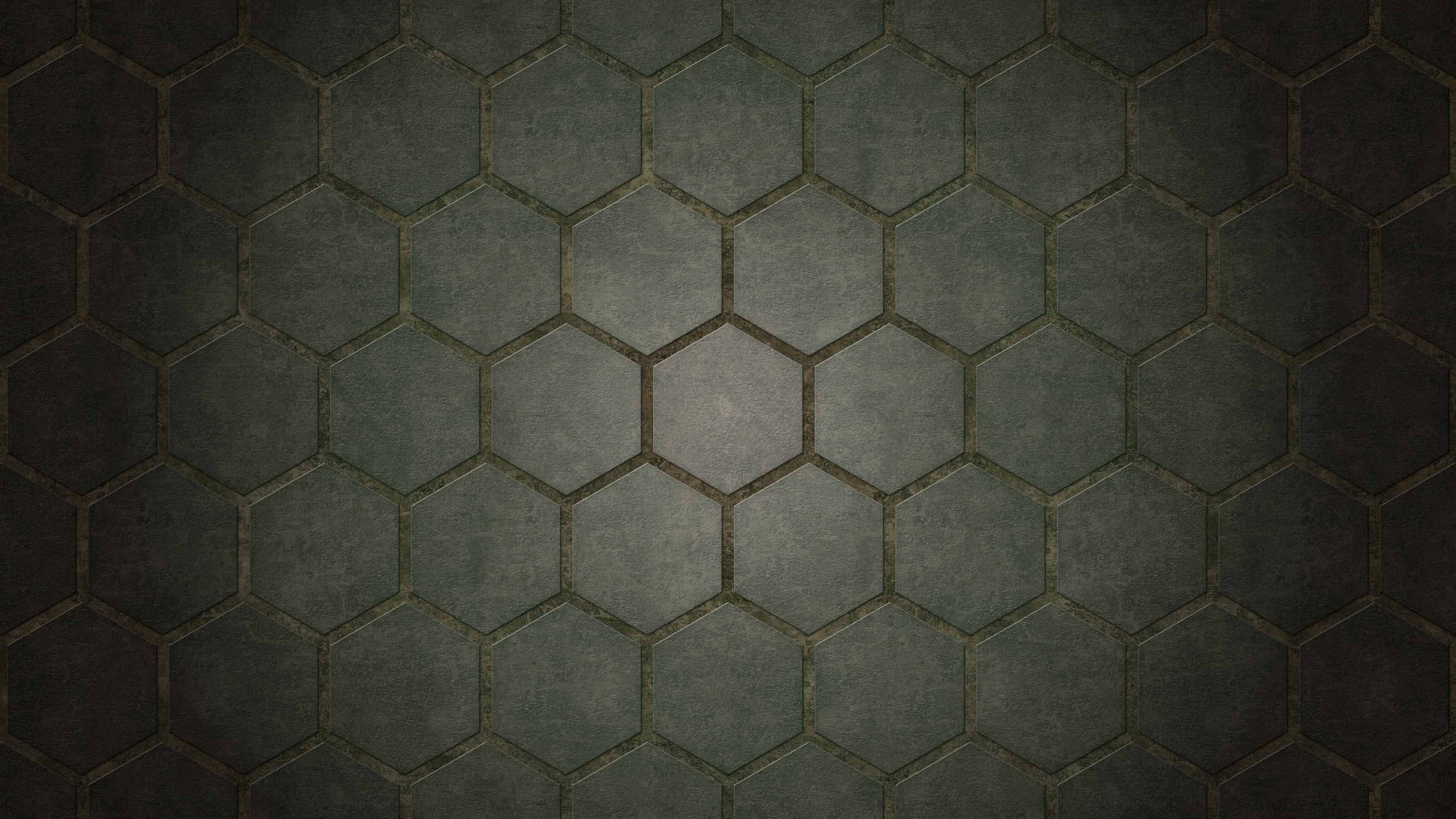 octagon pattern 4k wallpaper