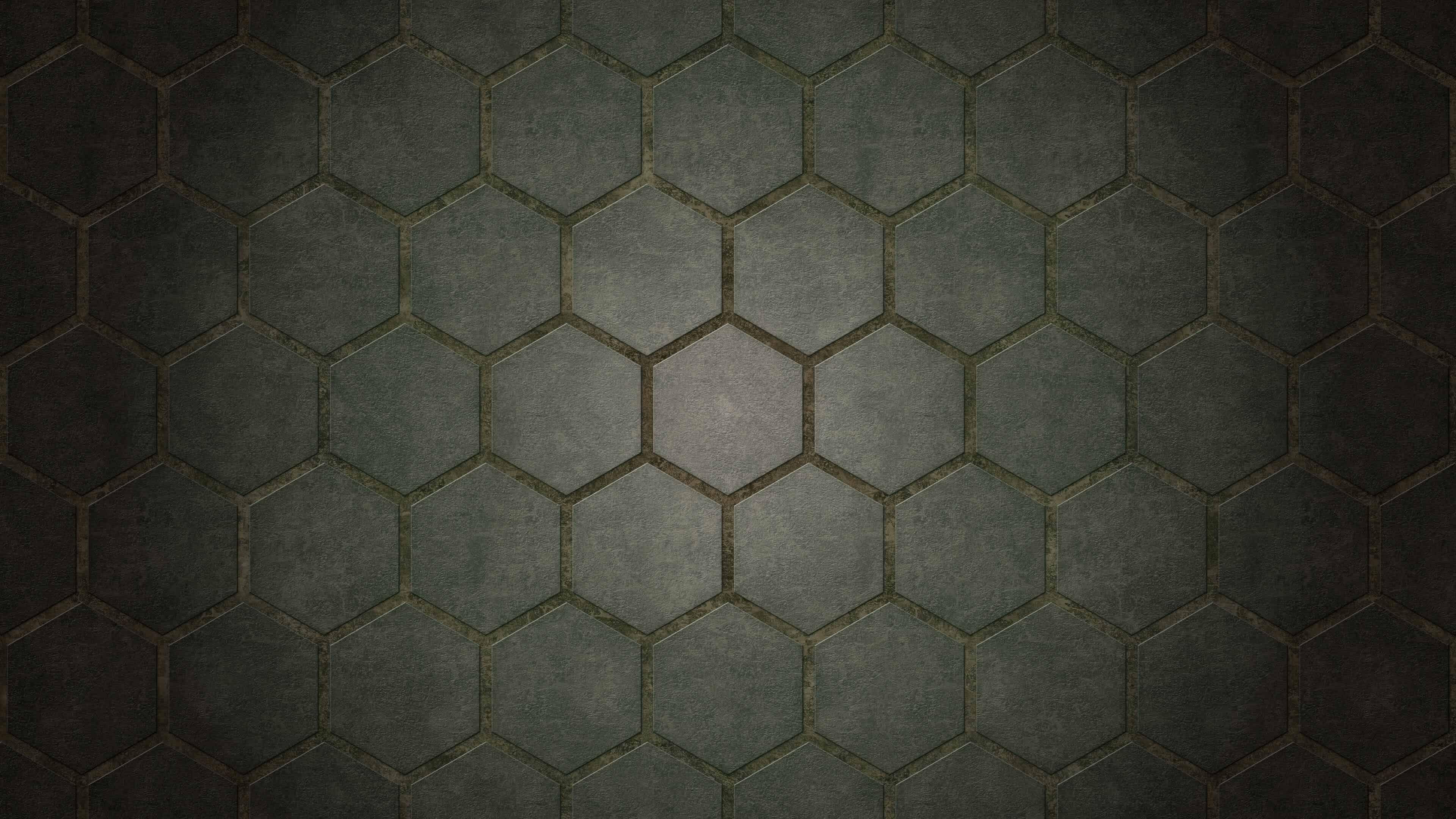 Download Wallpaper 3840x2160 Black background, Pattern, Light ...