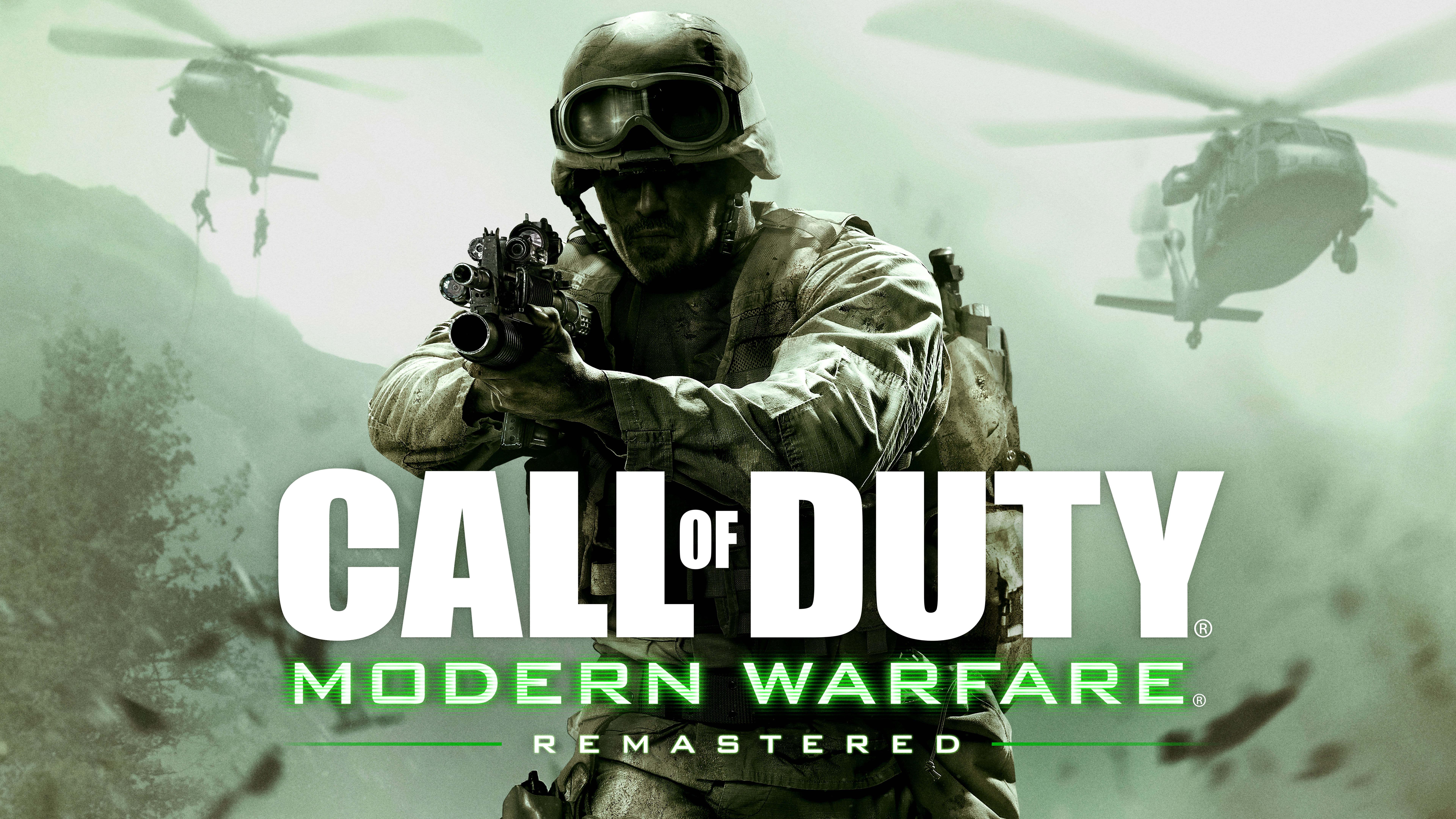 call of duty 4 modern warfare remastered 8k wallpaper