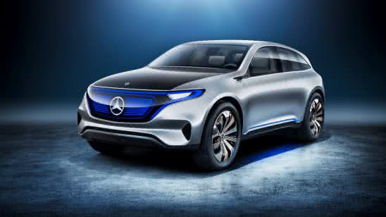 mercedes benz generation eq 8k wallpaper