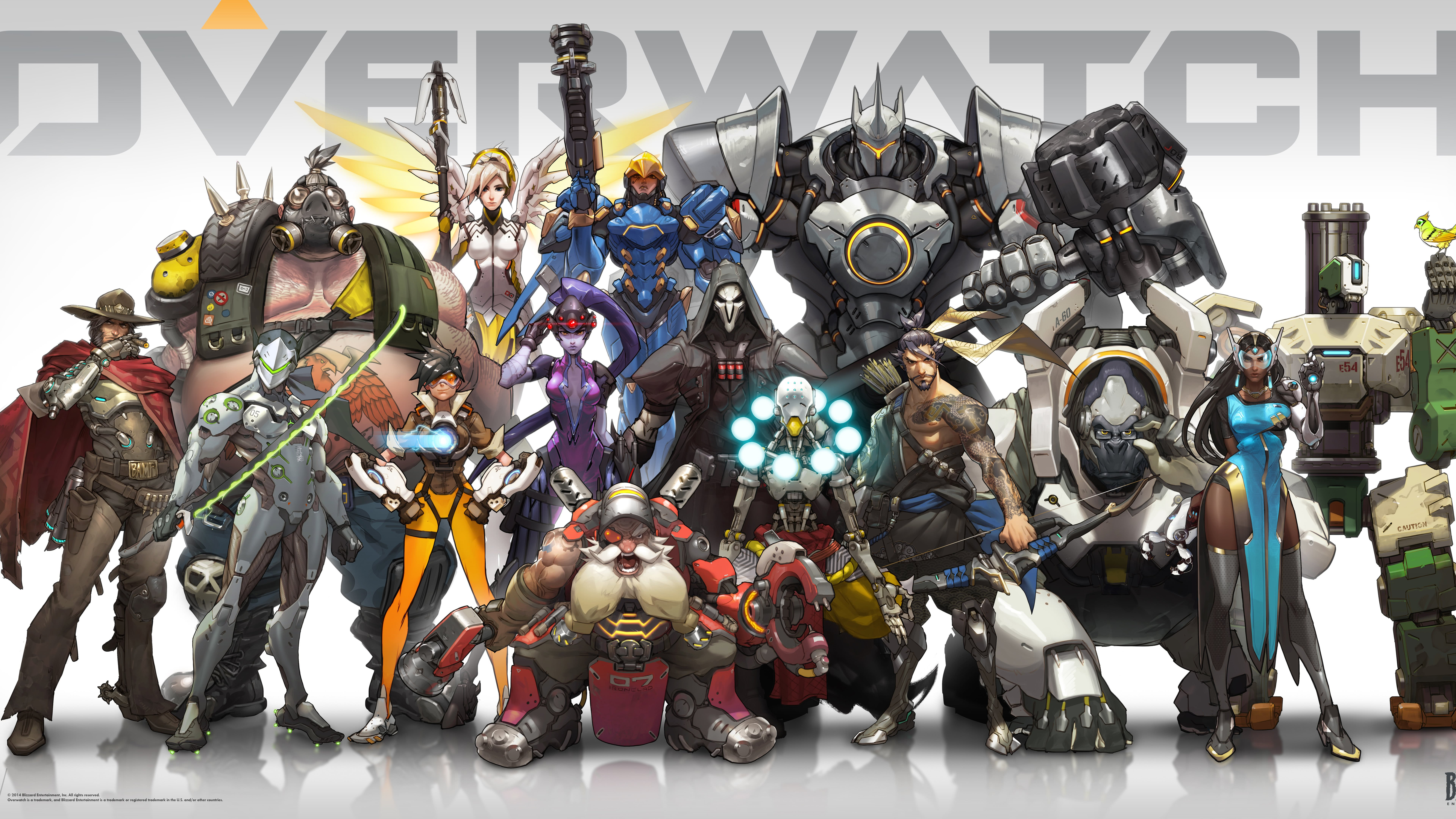 Overwatch Uhd 8k Wallpaper Pixelz