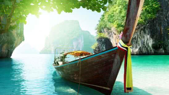 similan islands thailand 8k wallpaper