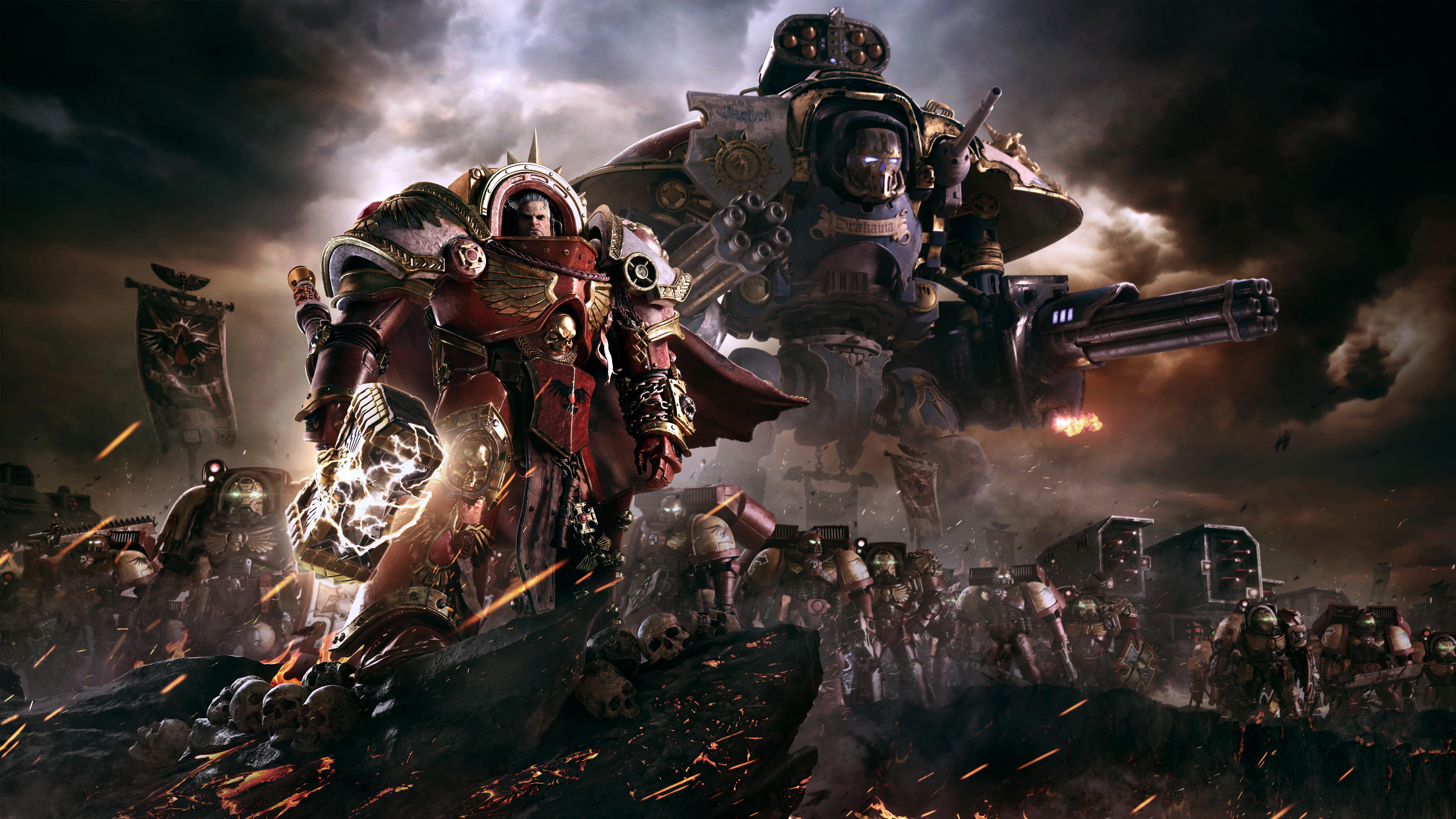 warhammer 40000 dawn of war iii 8k wallpaper