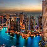 dubai skyscrapers united arab emirates uhd 4k wallpaper