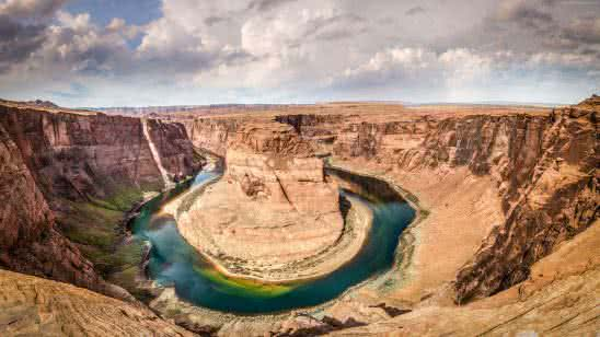 horseshoe bend colorado river arizona united states uhd 4k wallpaper