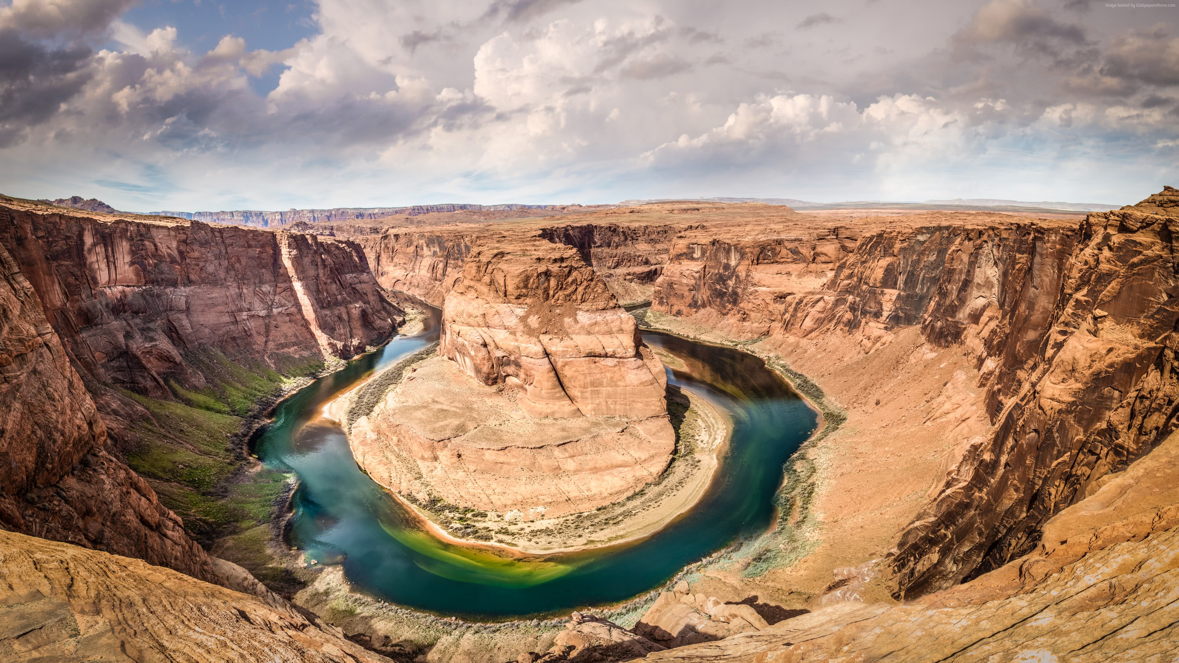 Horseshoe Bend, Colorado River, Arizona UHD 4K Wallpaper
