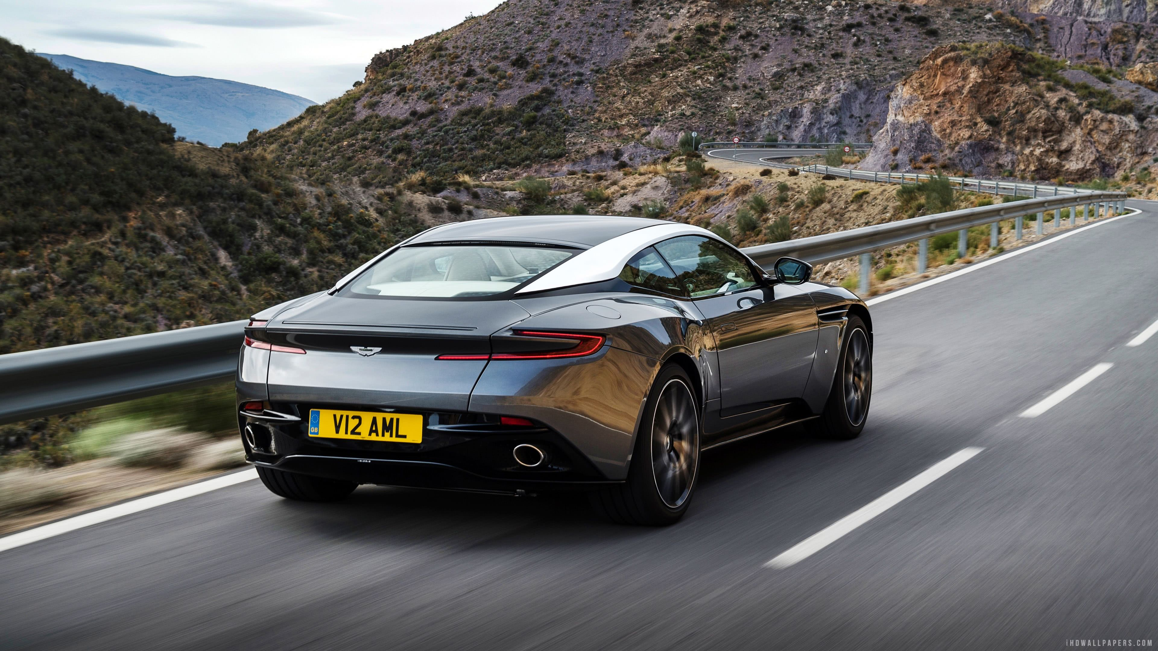 black aston martin db11 uhd 4k wallpaper