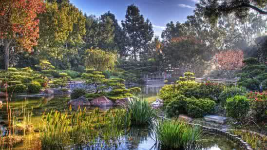 earl burns miller japanese garden california state university long beach california united states uhd 4k wallpaper