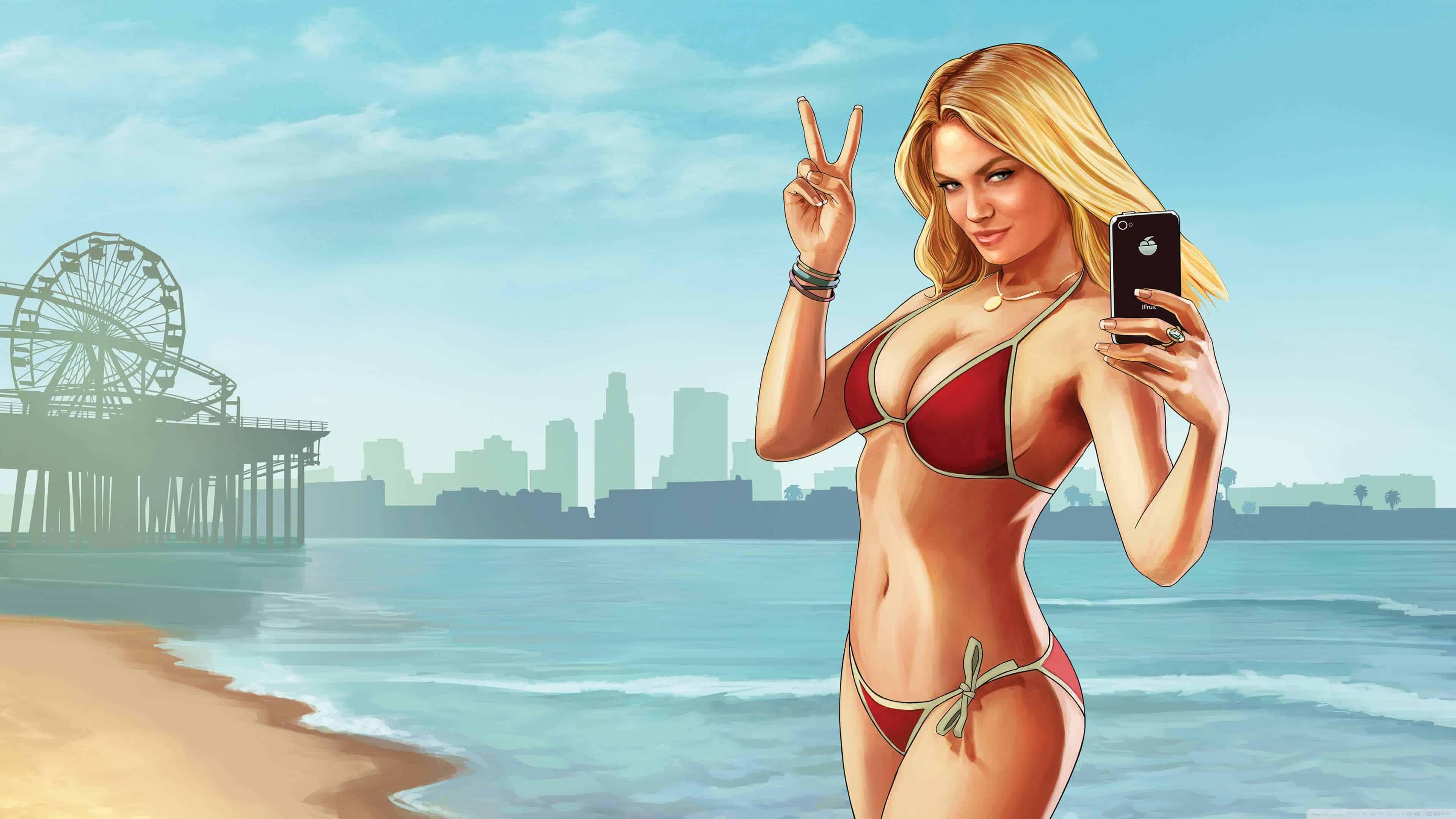 how to change bikini gta 5