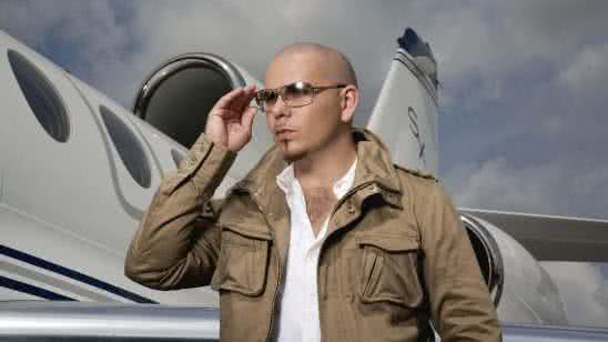 pitbull musician with private jet uhd 4k wallpaper