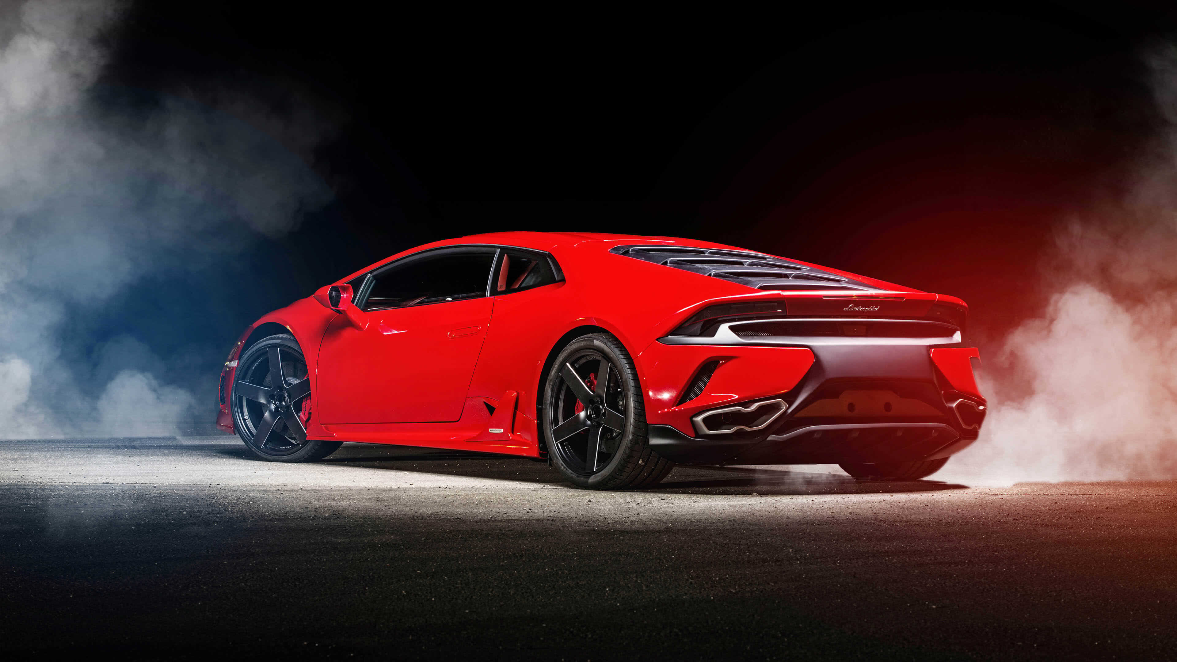 red lamborghini huracan uhd 4k wallpaper