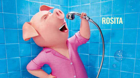 sing movie rosita the pig in shower uhd 4k wallpaper