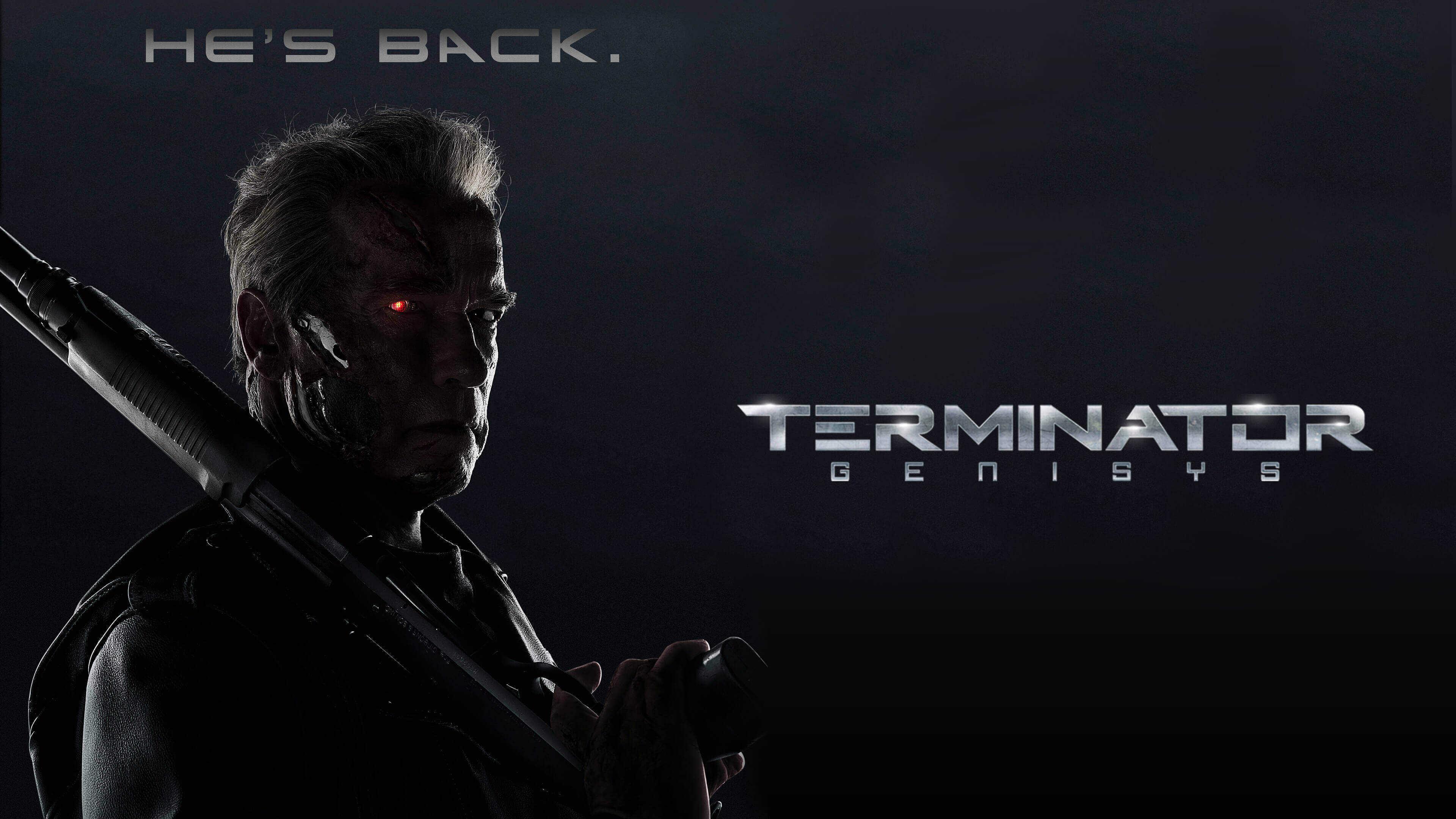 terminator genisys uhd 4k wallpaper