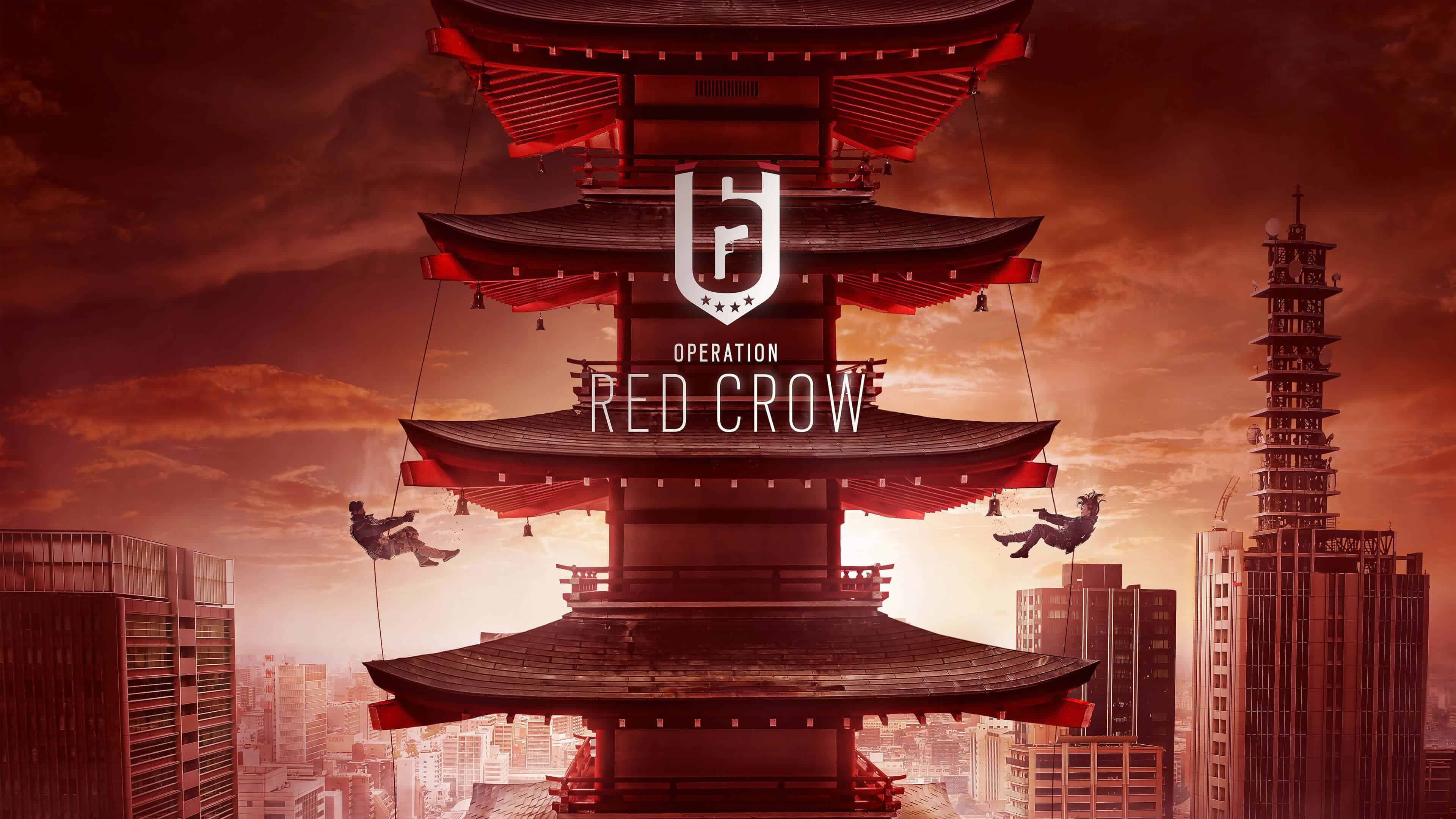 tom clancys rainbow-six siege operation red crow uhd 4k wallpaper