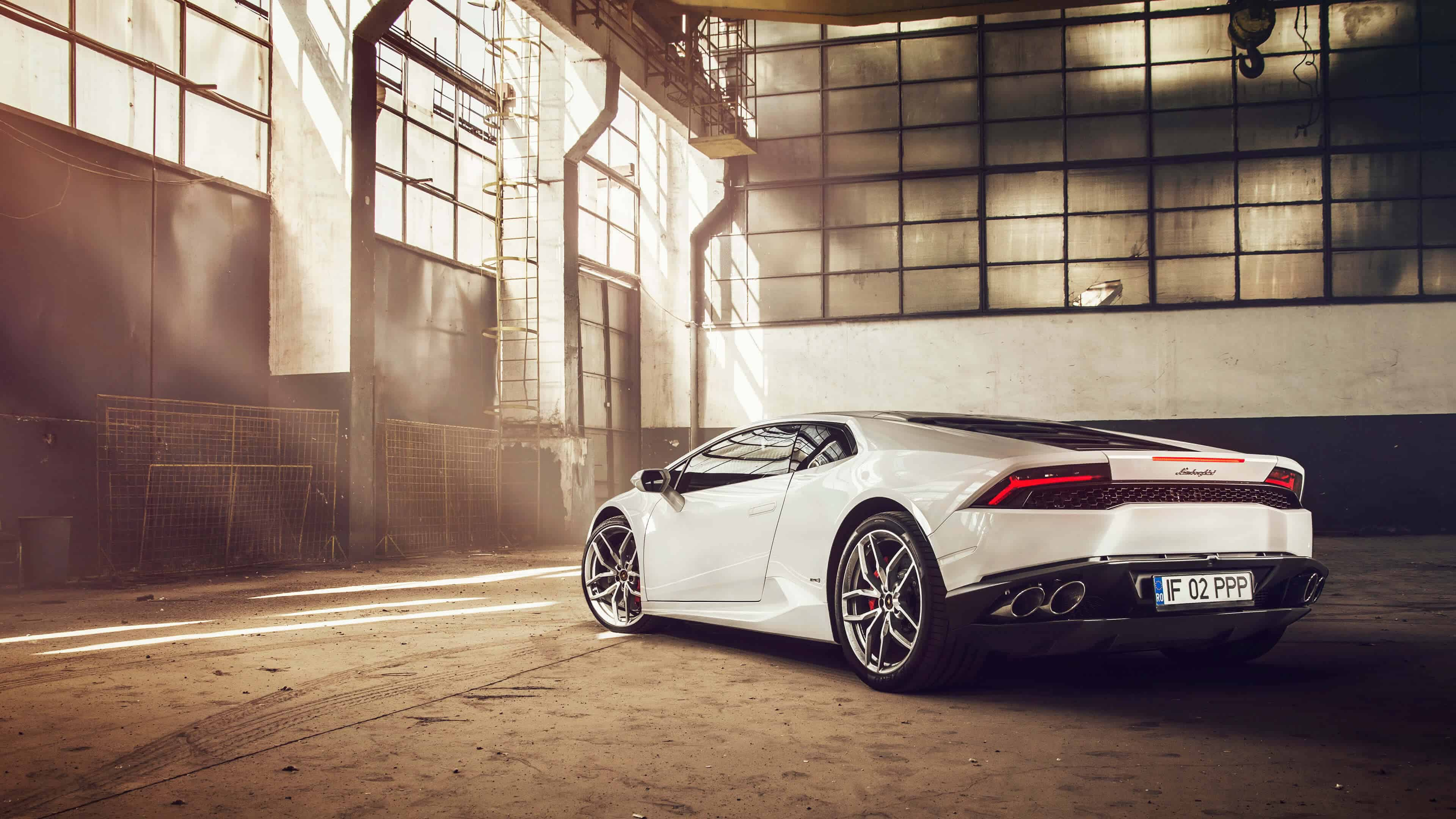 White Lamborghini Huracan Liberty Walk UHD 4K Wallpaper Pixelz