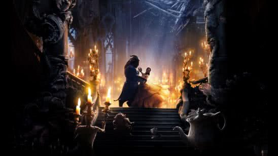 beauty and the beast uhd 8k wallpaper