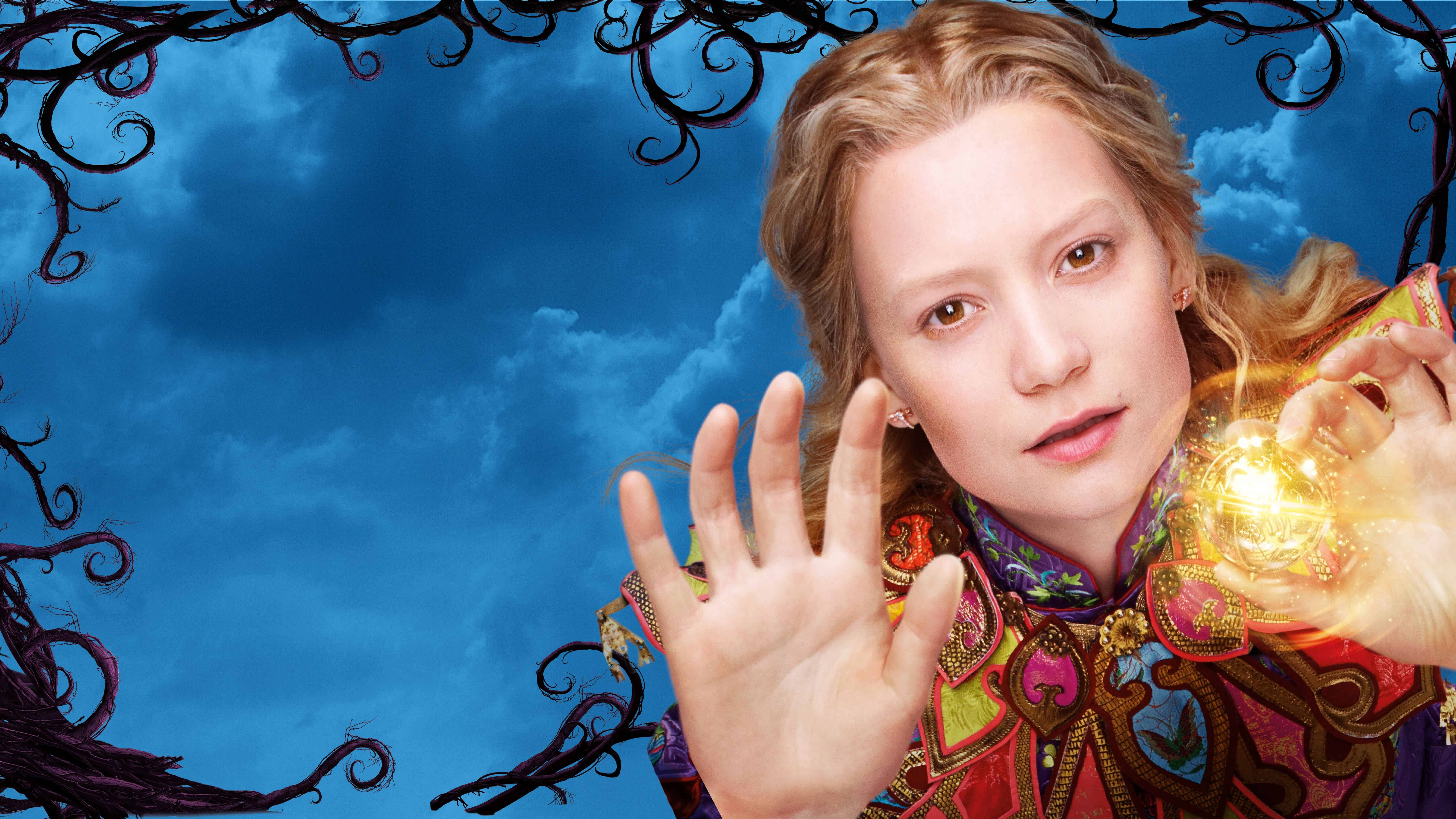 alice from alice through the looking glass uhd 8k wallpaper