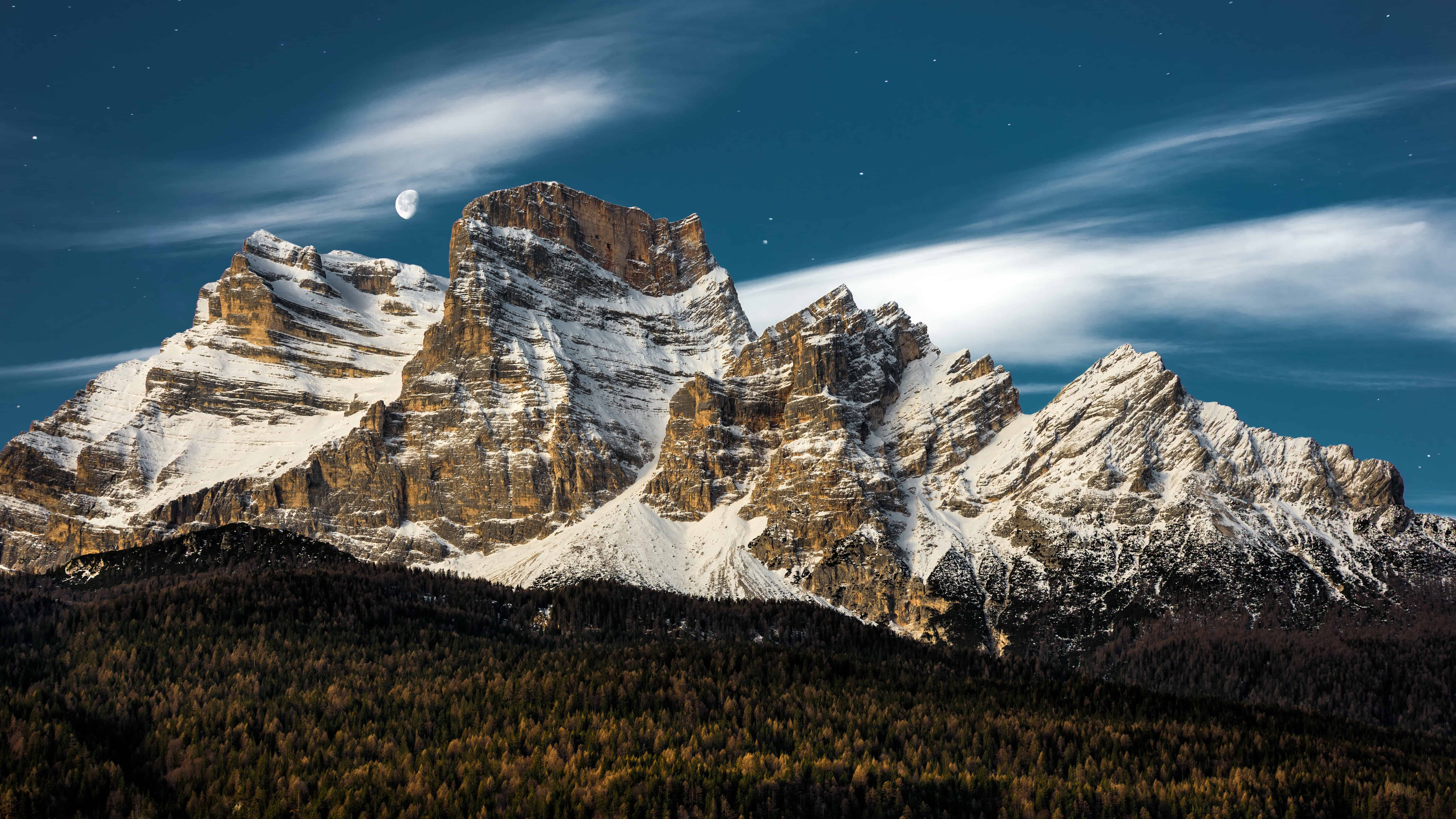 dolomites mountains italy uhd 8k wallpaper