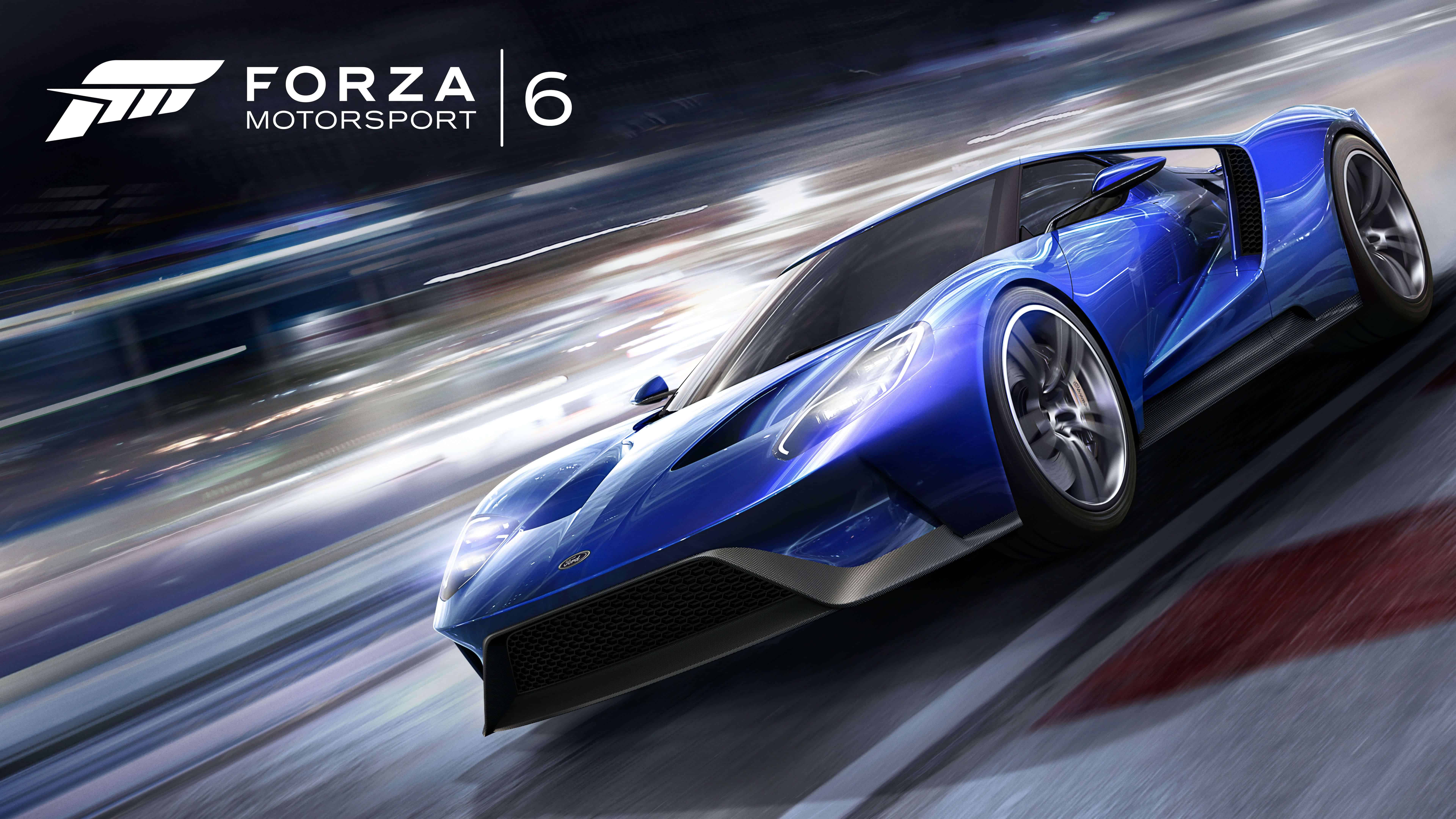 forza motorsport 6 ford gt uhd 8k wallpaper | pixelz