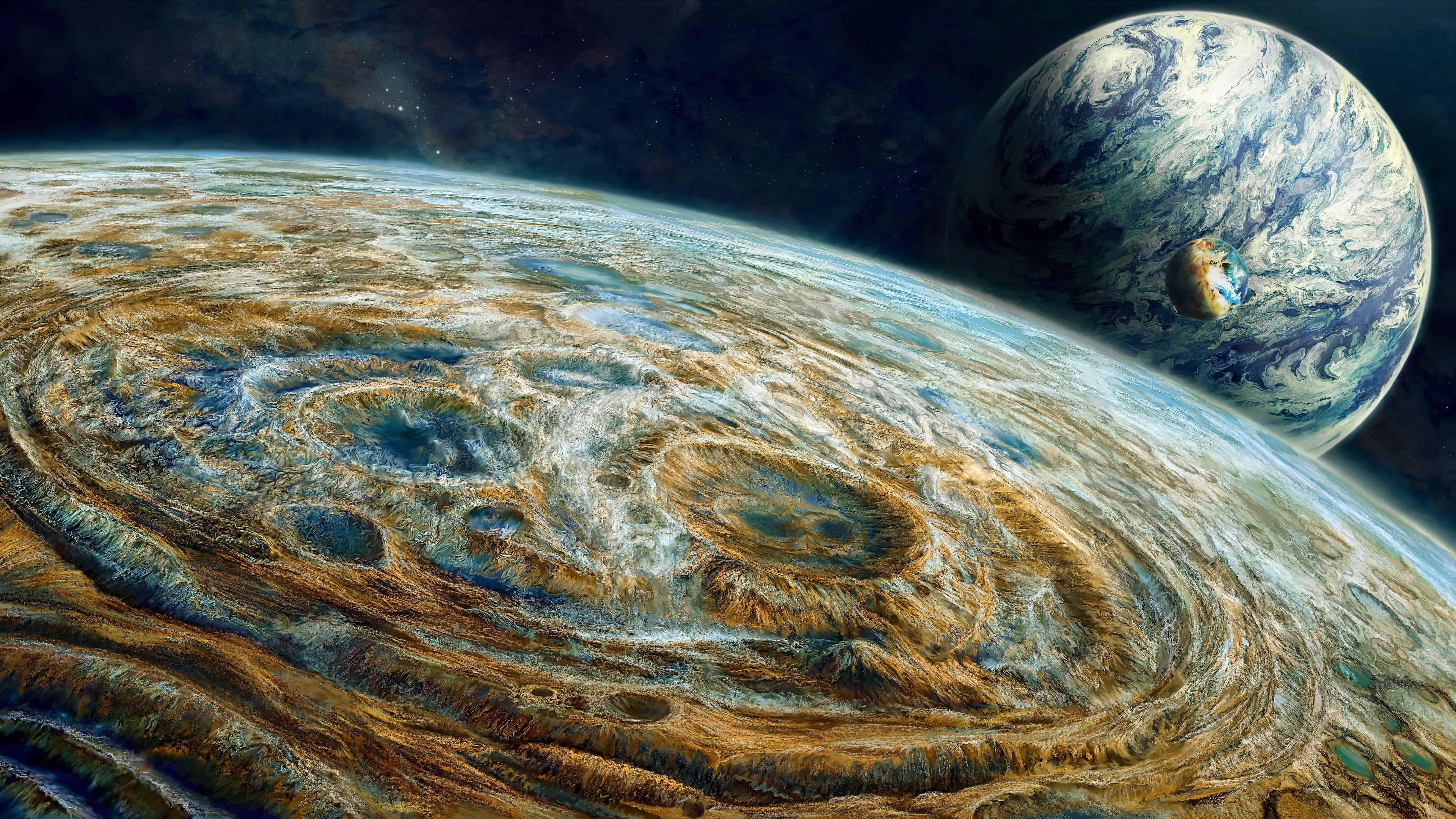 planet surface uhd 8k wallpaper