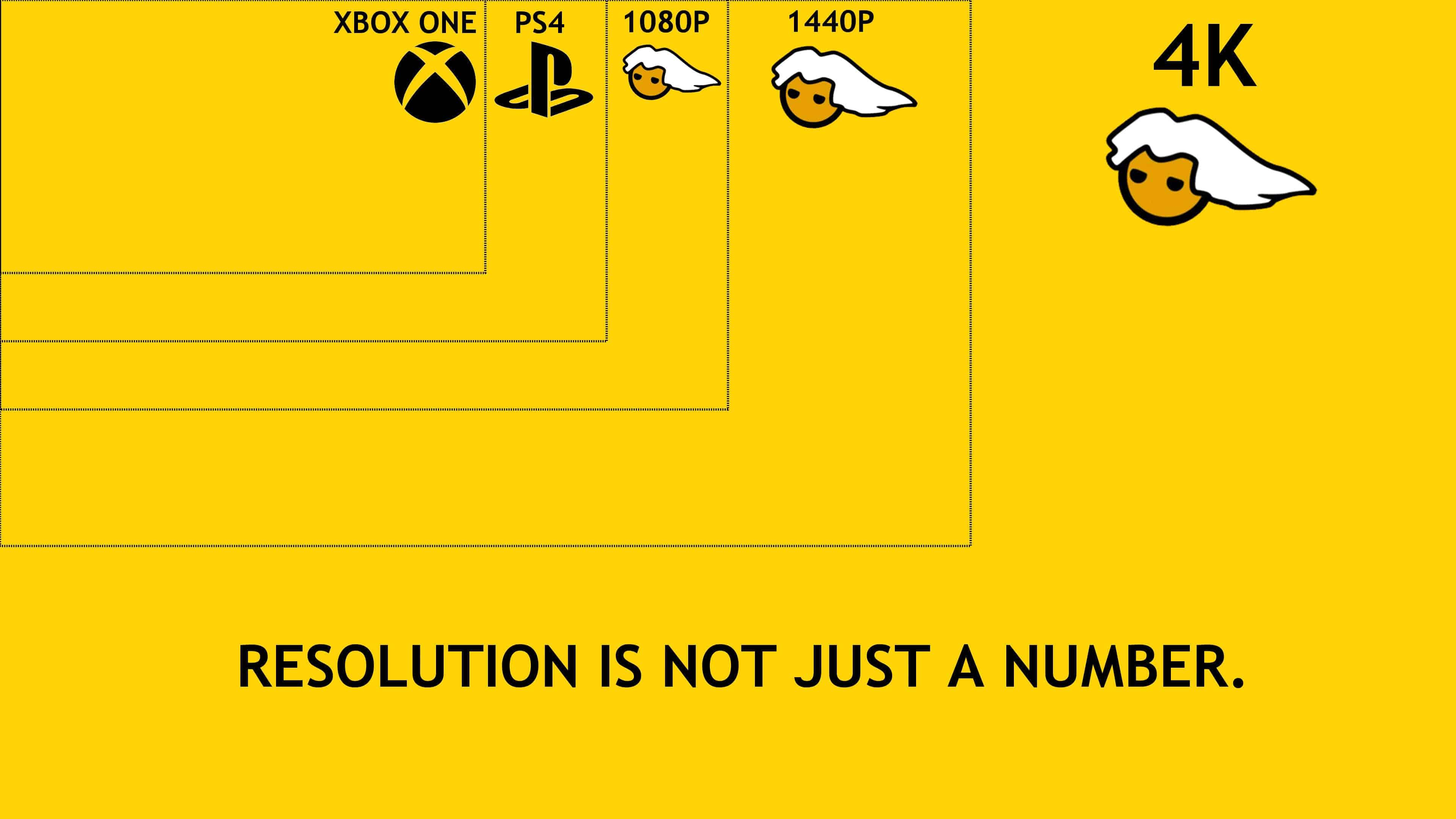 resolution isnt just a number pc master race uhd 4k wallpaper