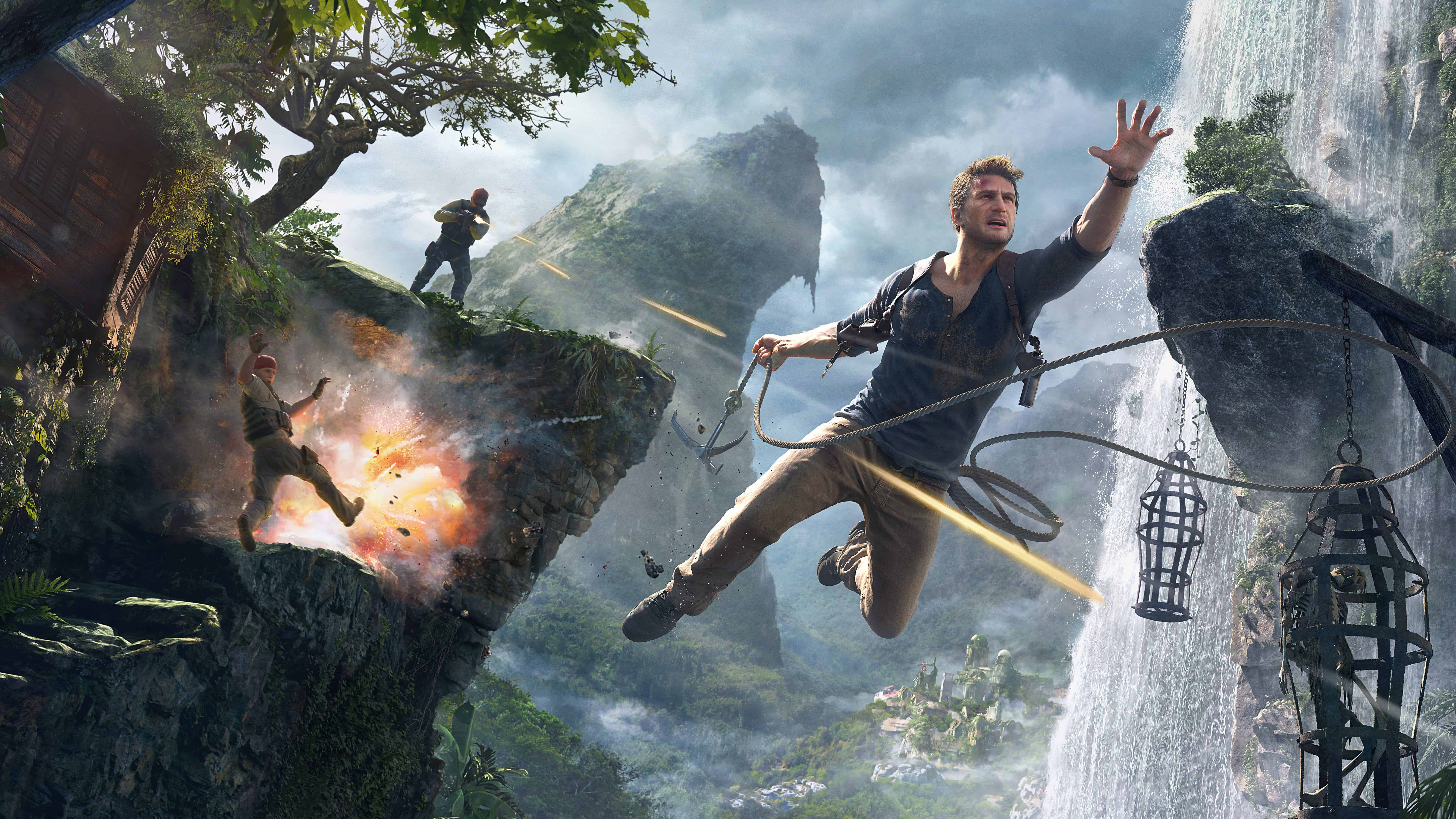 uncharted 4 concept art uhd 8k wallpaper