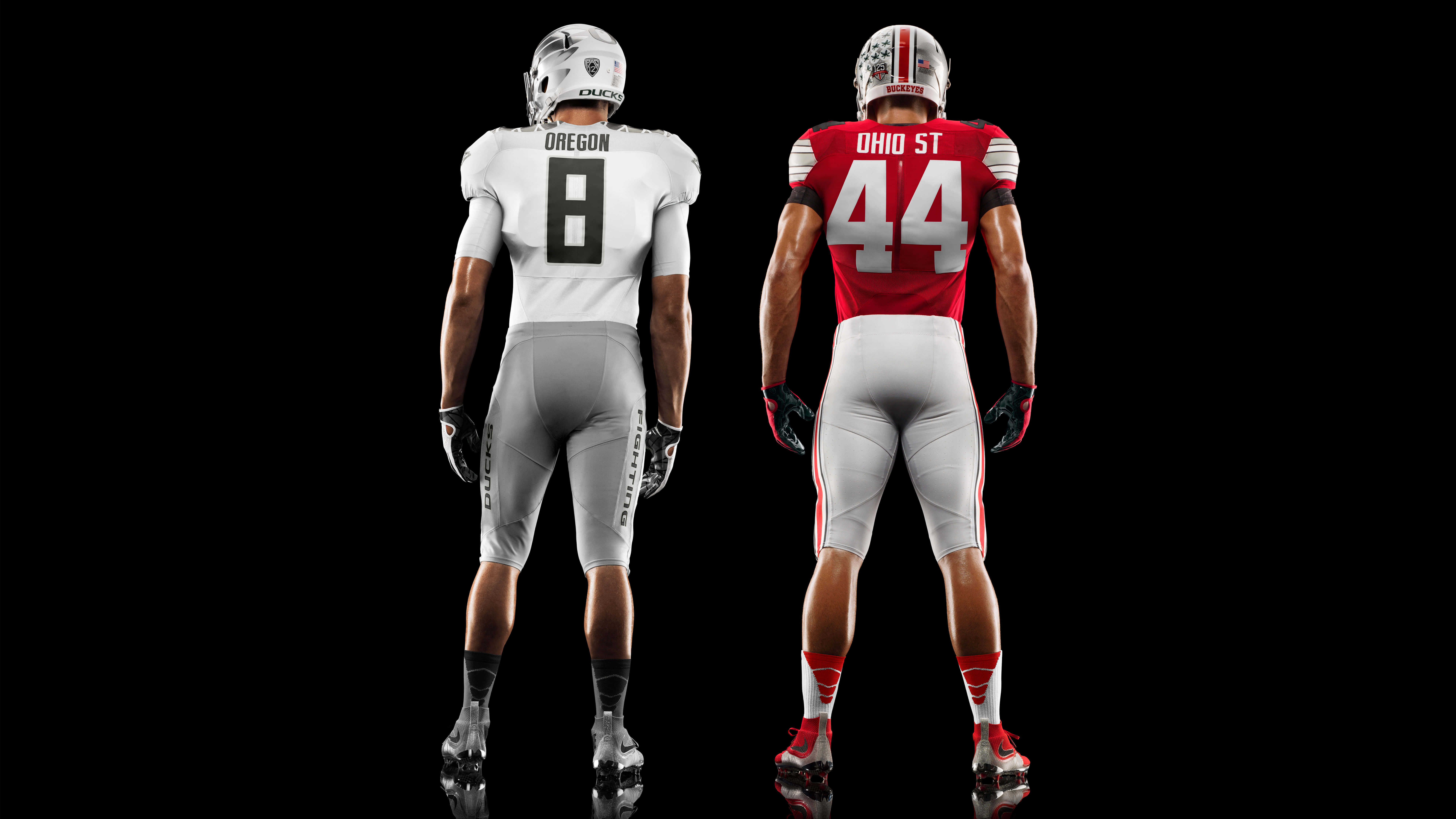 american college football nike jersey back uhd 8k wallpaper