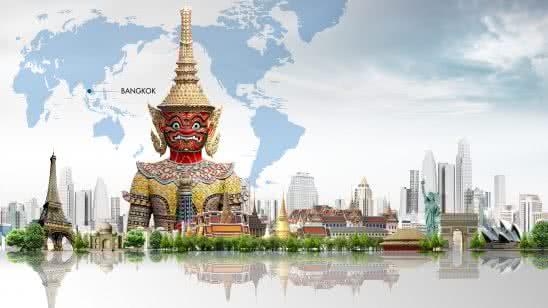 bangkok thailand uhd 8k wallpaper