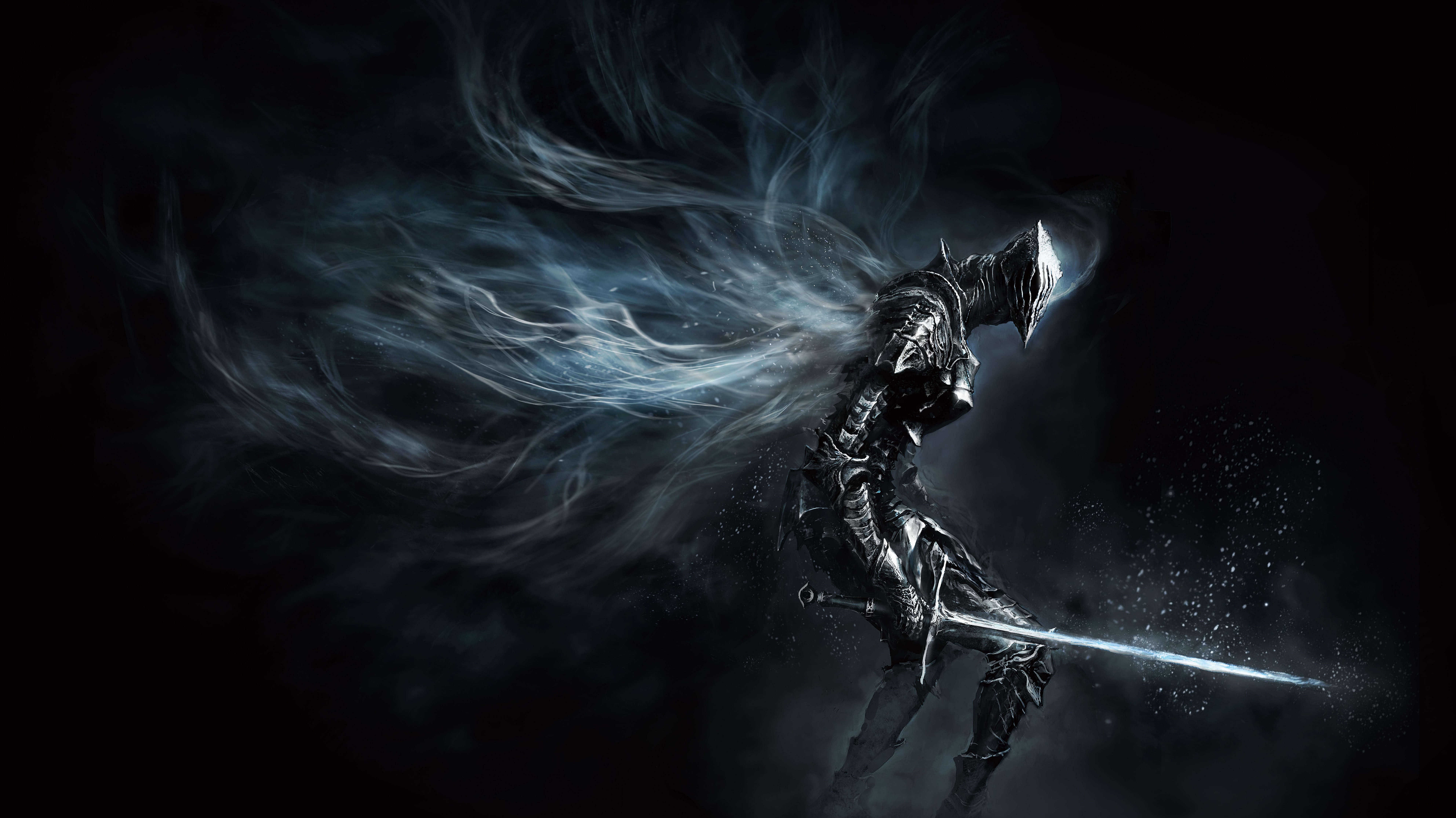 dark souls dark knight uhd 8k wallpaper