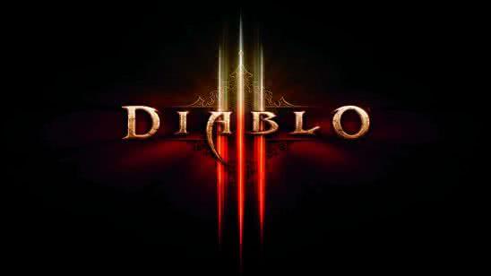 diablo 3 logo uhd 8k wallpaper