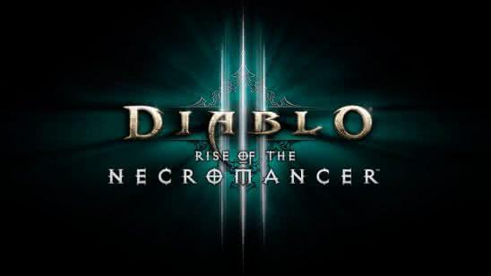 diablo 3 rise of the necromancer logo uhd 8k wallpaper