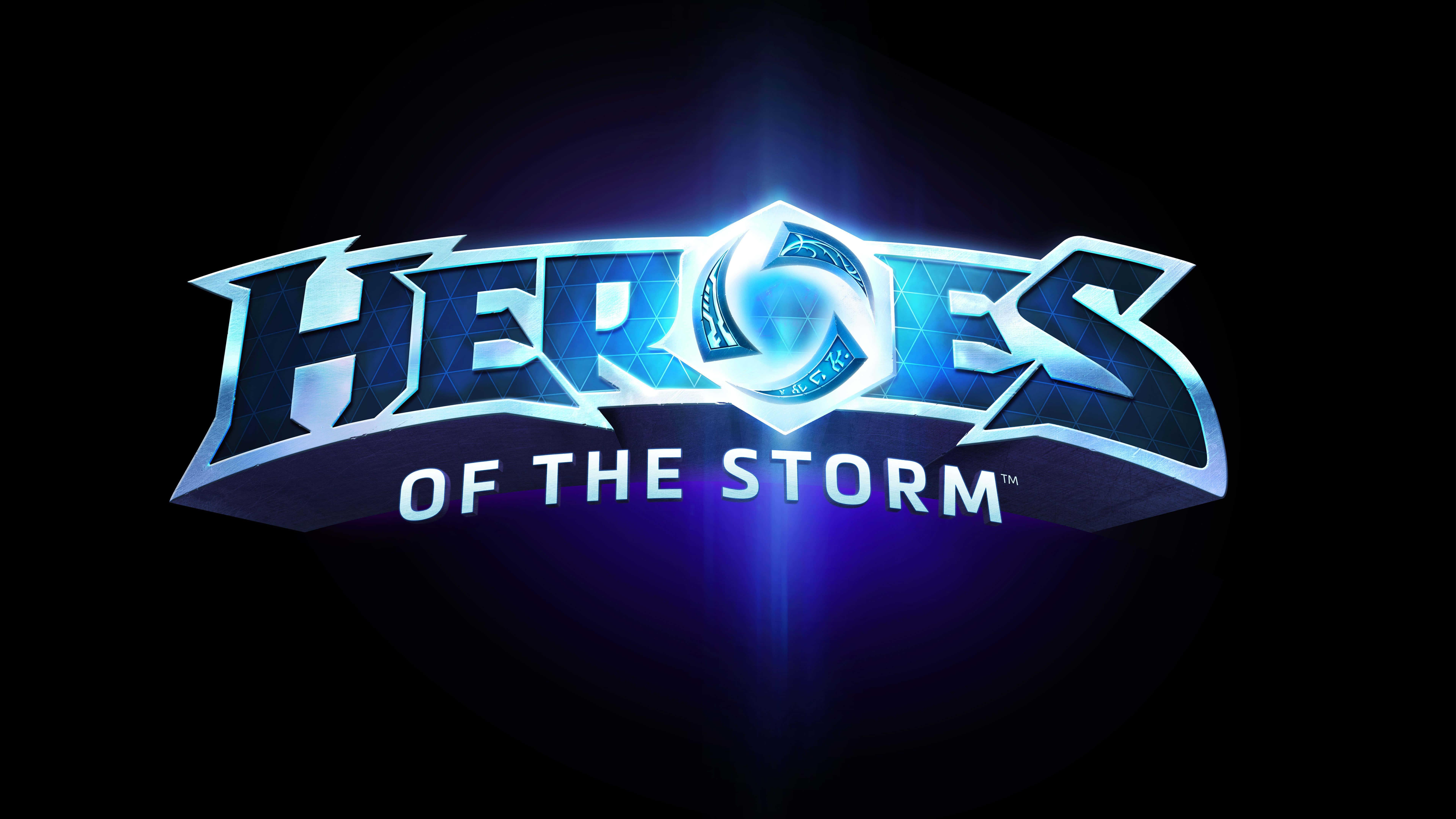 Heroes Of The Storm Logo Uhd 8k Wallpaper Pixelz