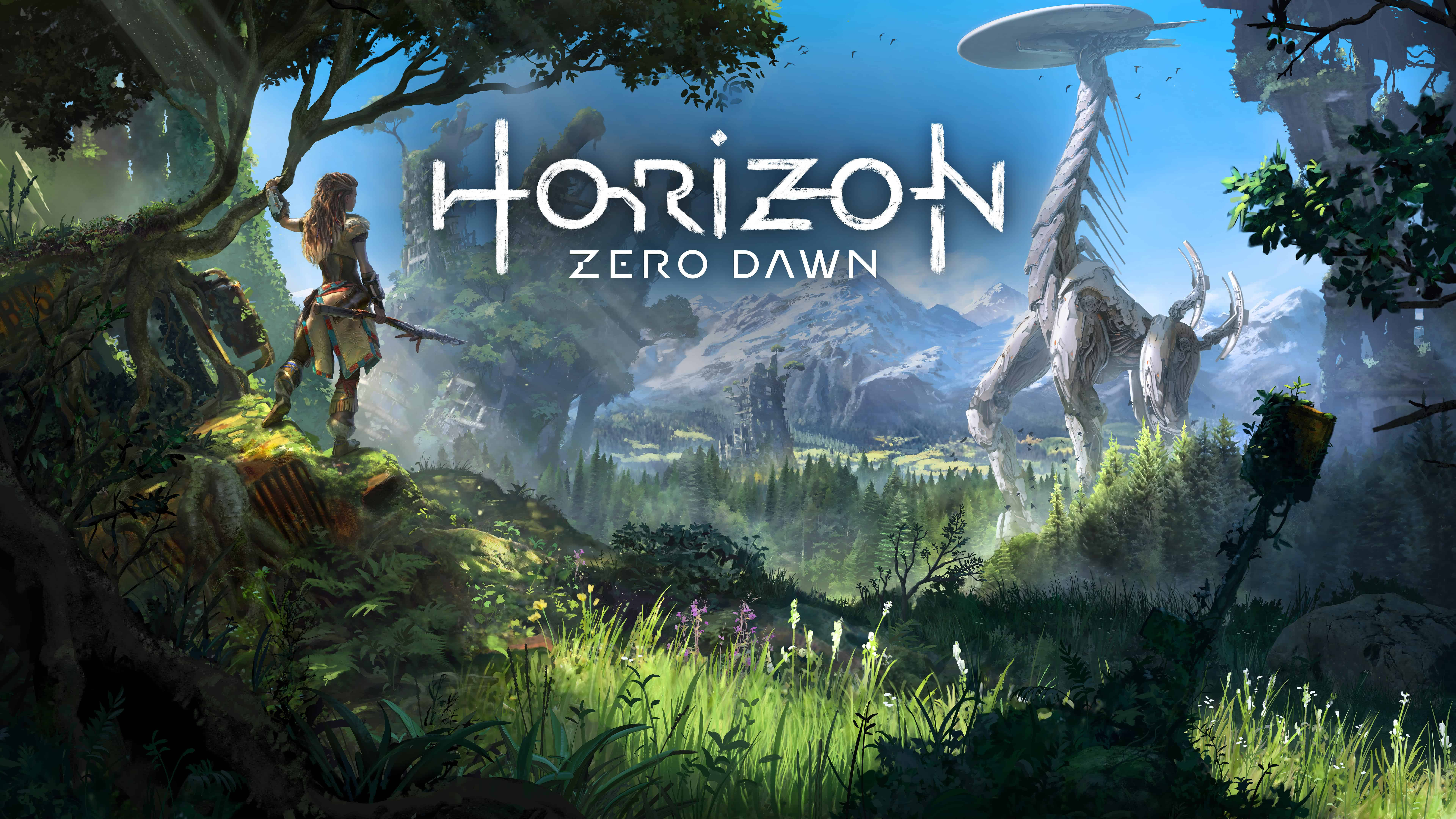 horizon zero dawn uhd 8k wallpaper