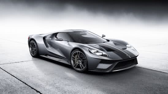 2017 ford gt black uhd 8k wallpaper