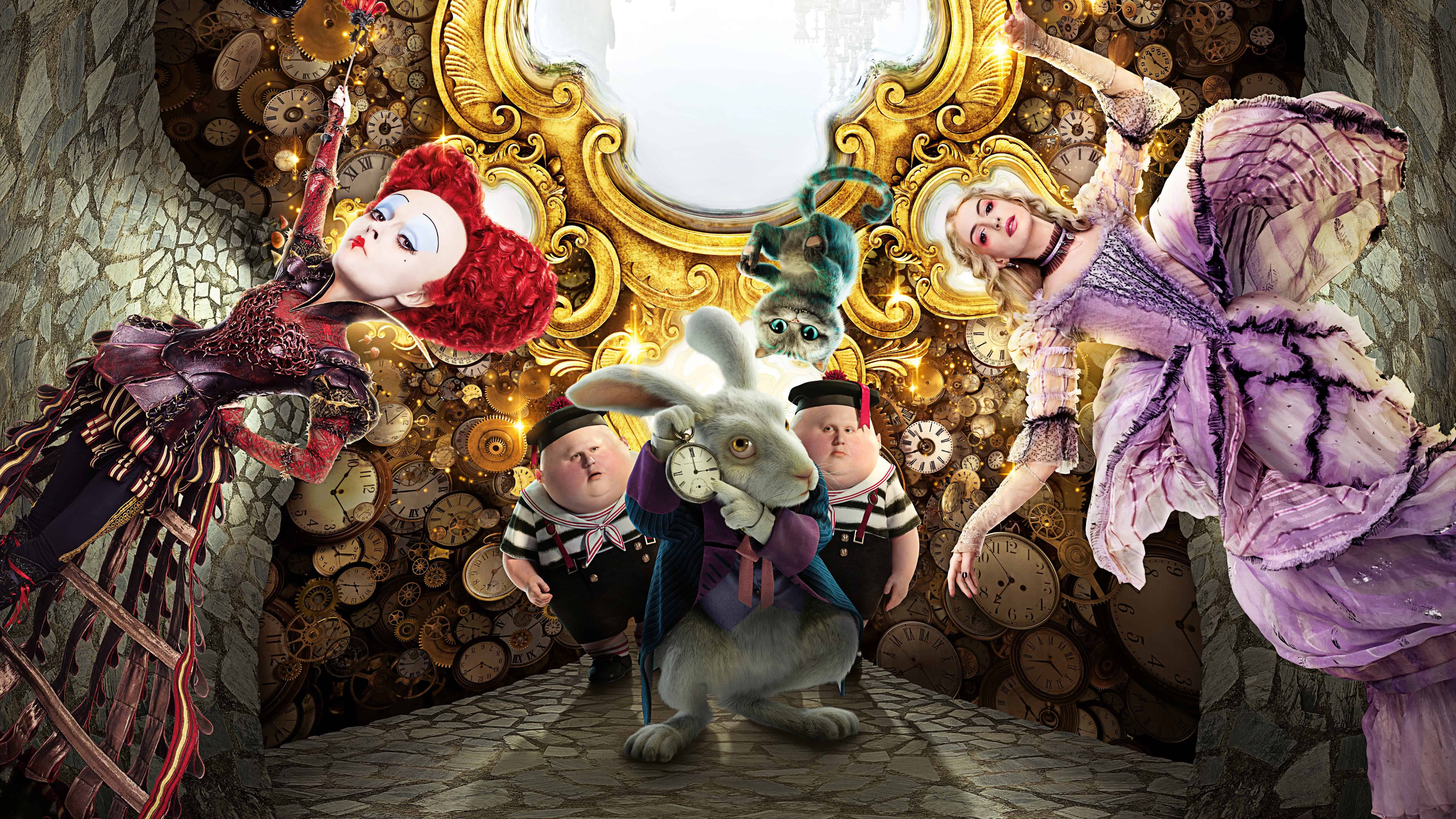 Alice Through The Looking Glass Uhd 8k Wallpaper