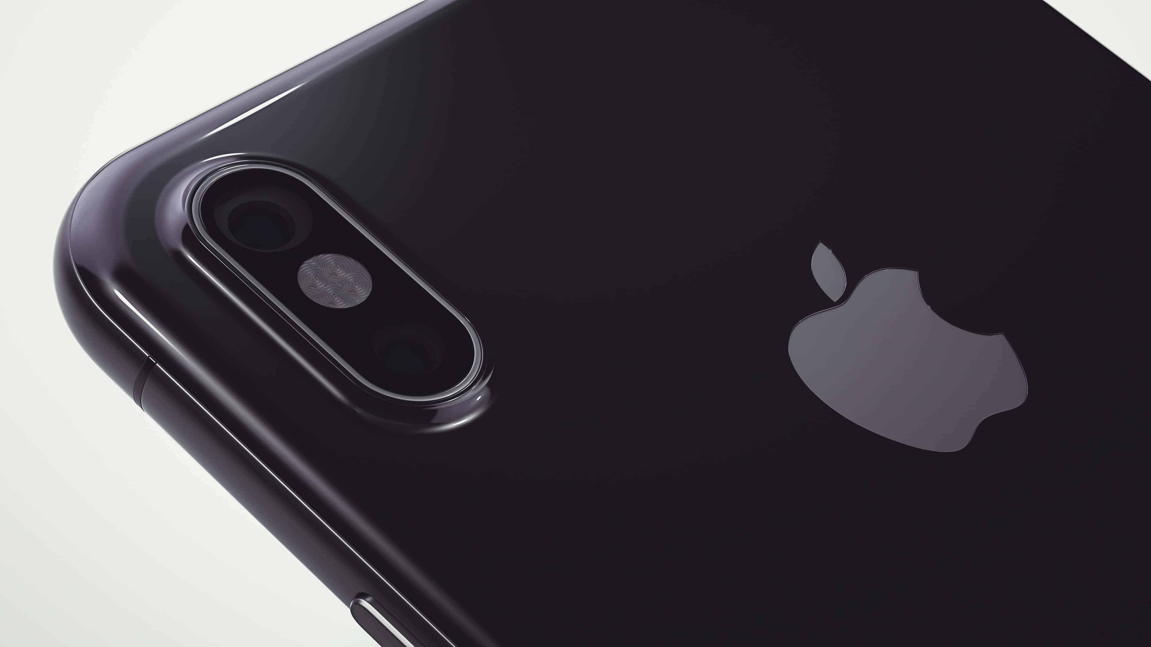 apple iphone 8 black back uhd 4k wallpaper