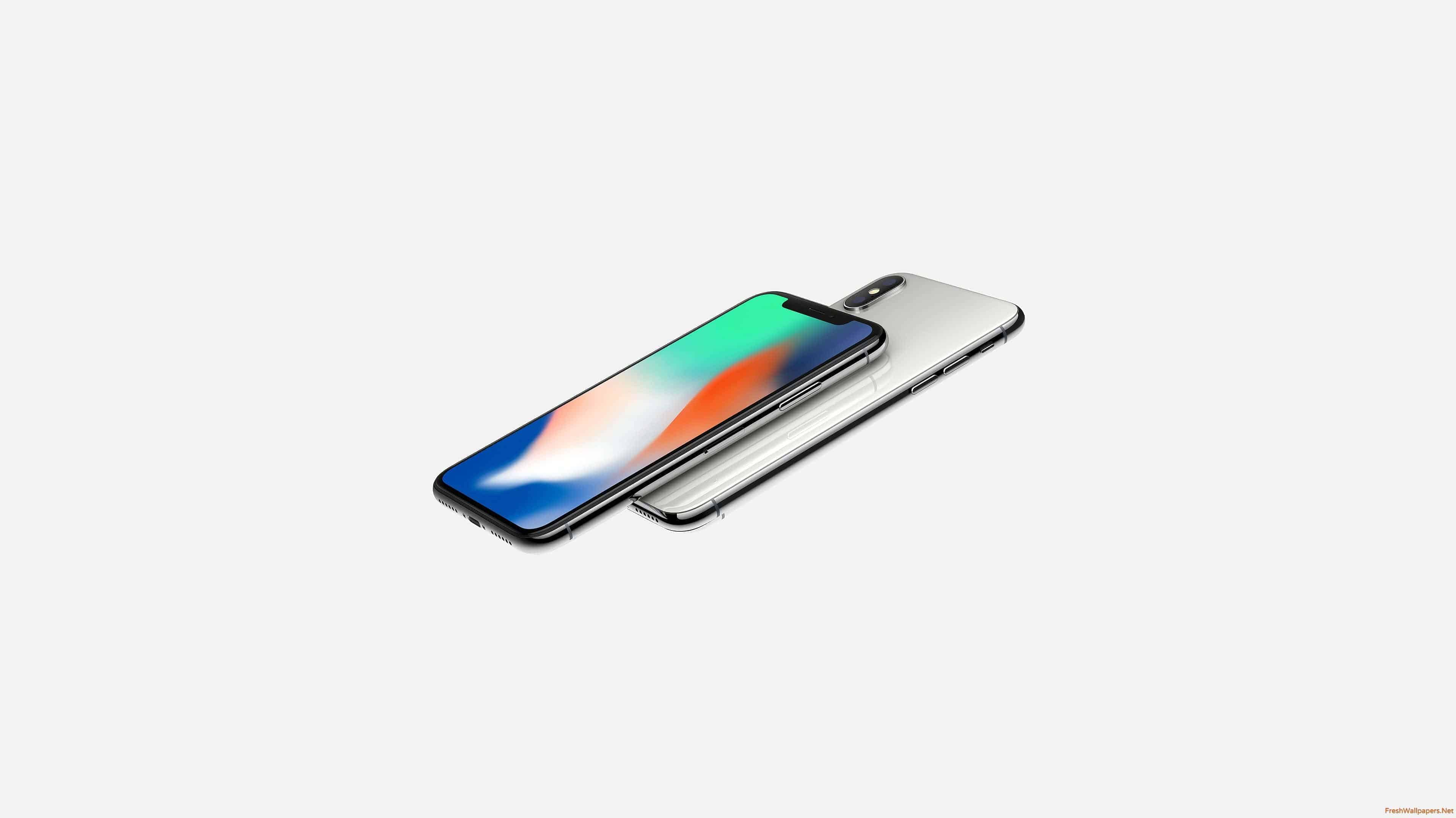 apple iphone x front and back uhd 4k wallpaper