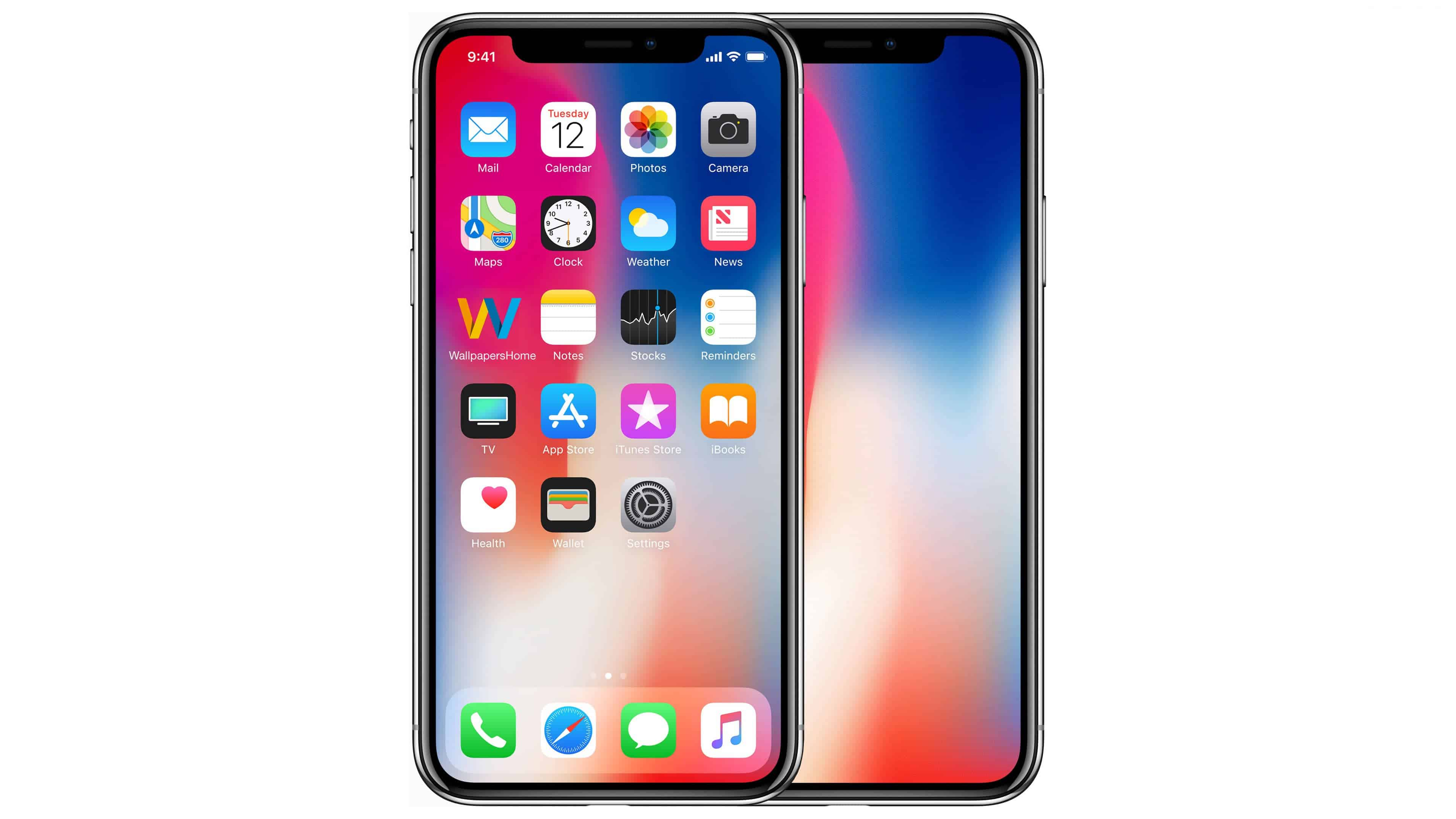 Apple Iphone X Front Uhd 4k Wallpaper Pixelz