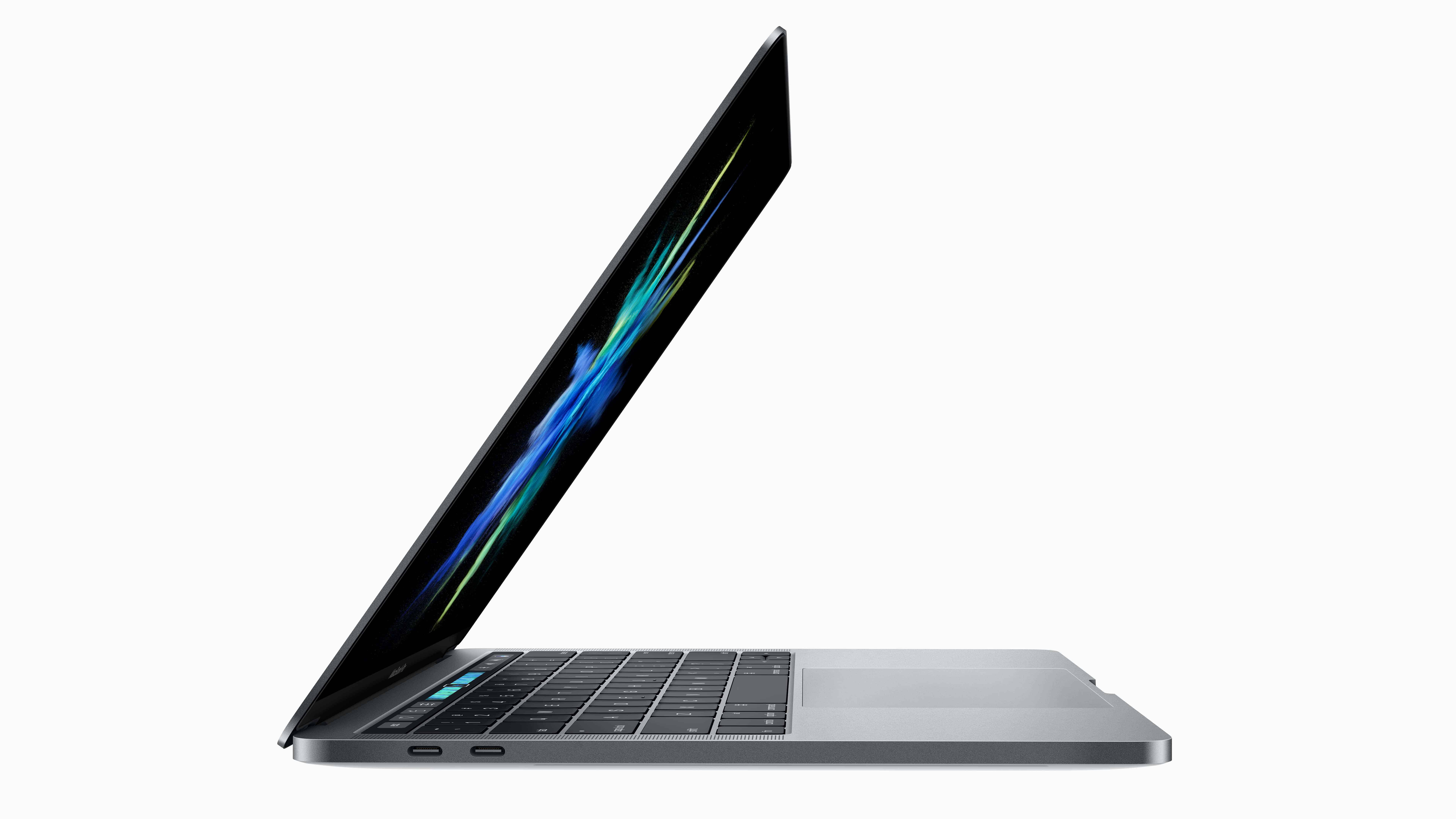 apple macbook pro with touch bar uhd 8k wallpaper