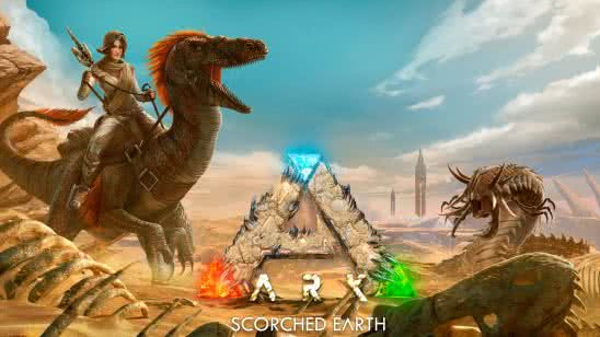 ark scorched earth uhd 8k wallpaper