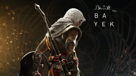 assassins creed origins bayek uhd 8k wallpaper