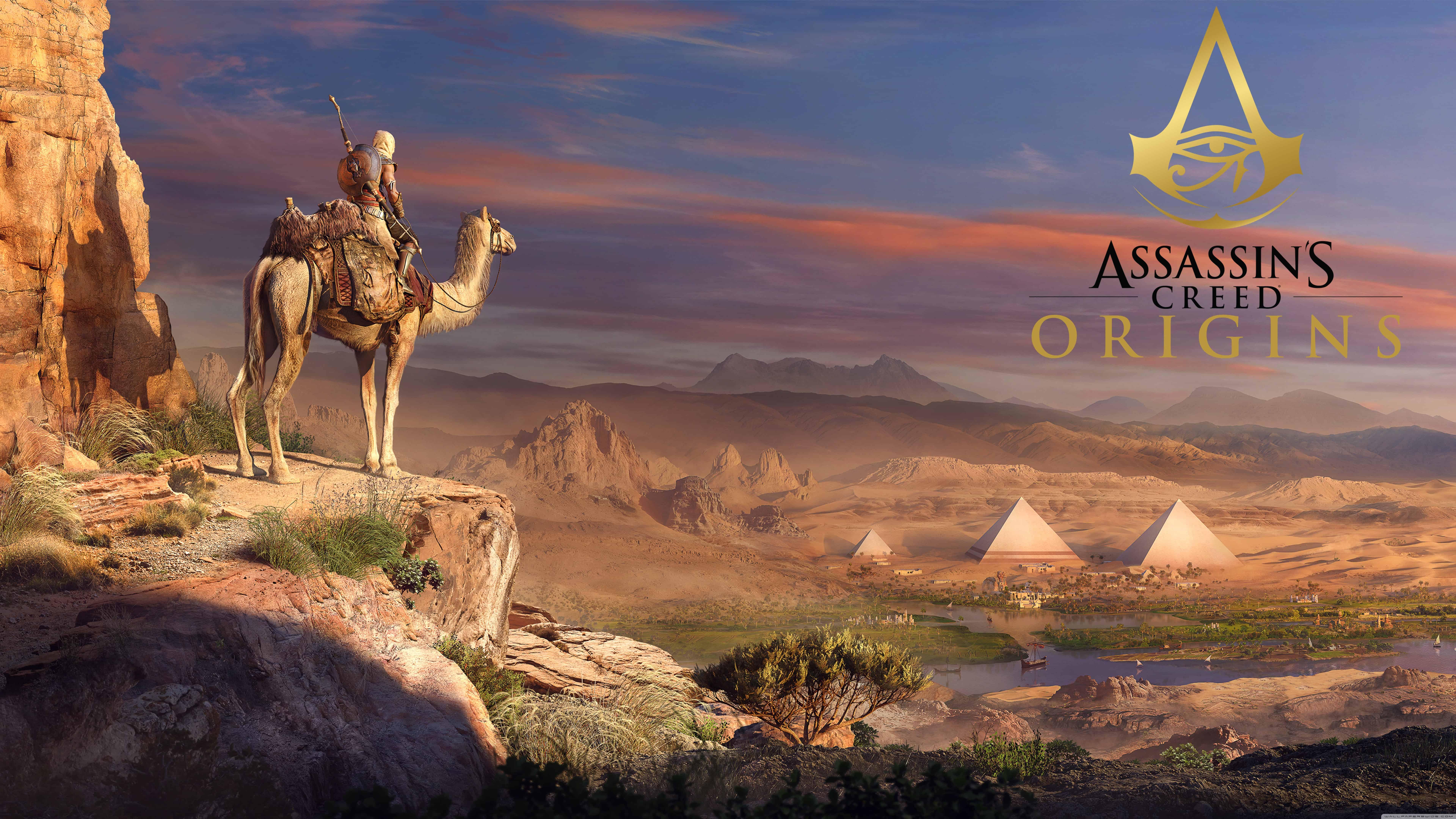 assassins creed origins concept art uhd 8k wallpaper