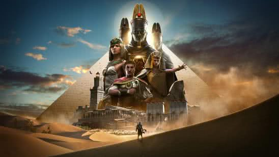 assassins creed origins pyramids egypt uhd 8k wallpaper