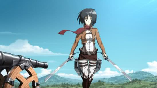 attack on titan mikasa ackerman uhd 4k wallpaper
