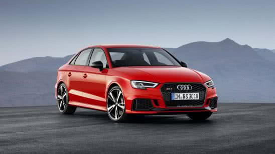 audi rs3 red sportback uhd 4k wallpaper