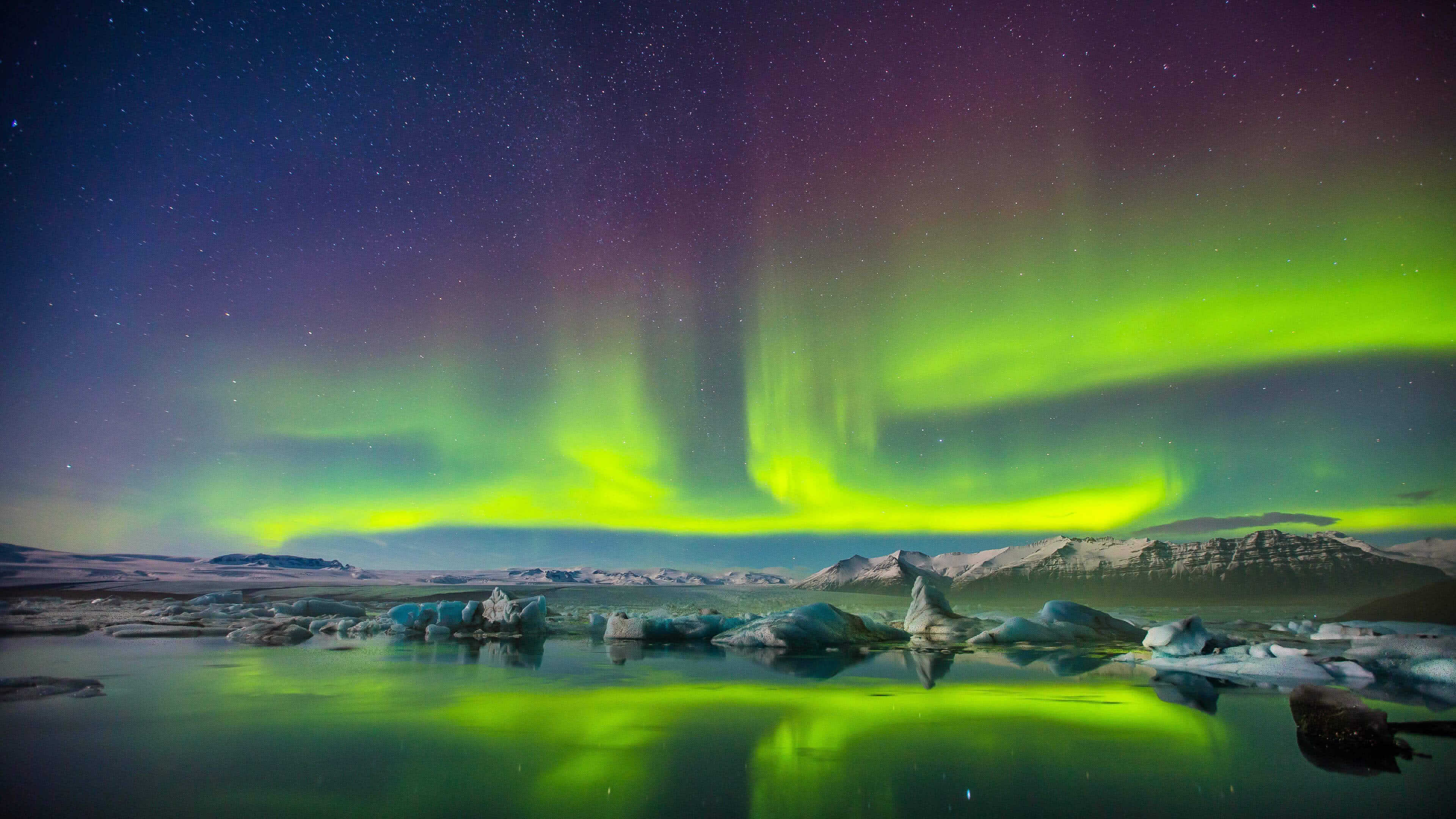 Aurora Borealis Northern Lights UHD 4K Wallpaper